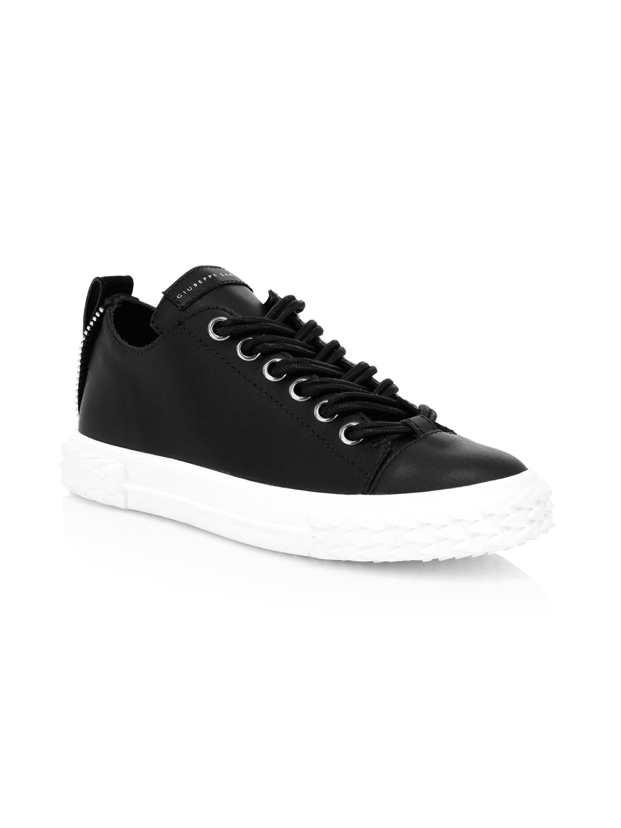 00f673b2ca35e Giuseppe Zanotti Women's Blabber Leather Low-top Sneakers - Bianco ...