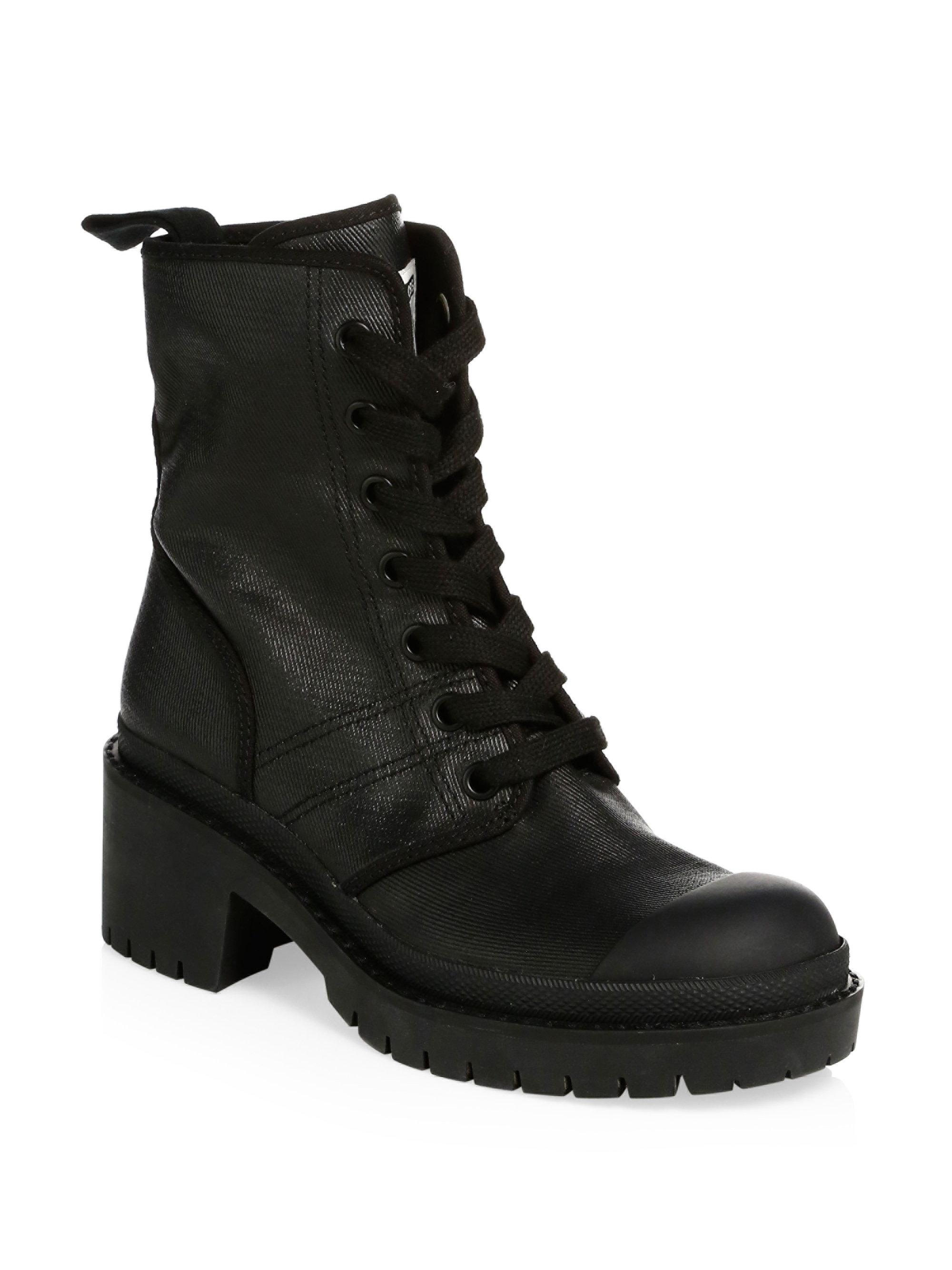 451382a82b8 Lyst - Marc Jacobs Bristol Lace-up Boots in Black for Men