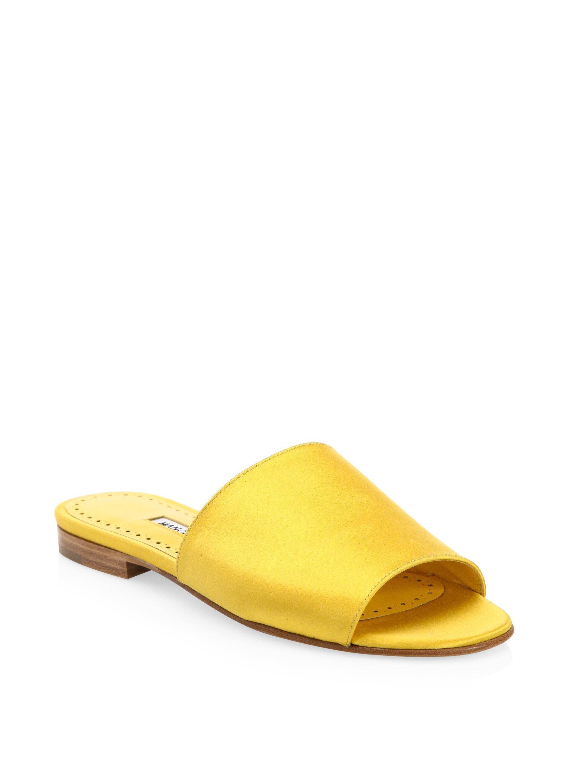Manolo Blahnik Classic Open Toe Sandals 2dyUXQ2FzF