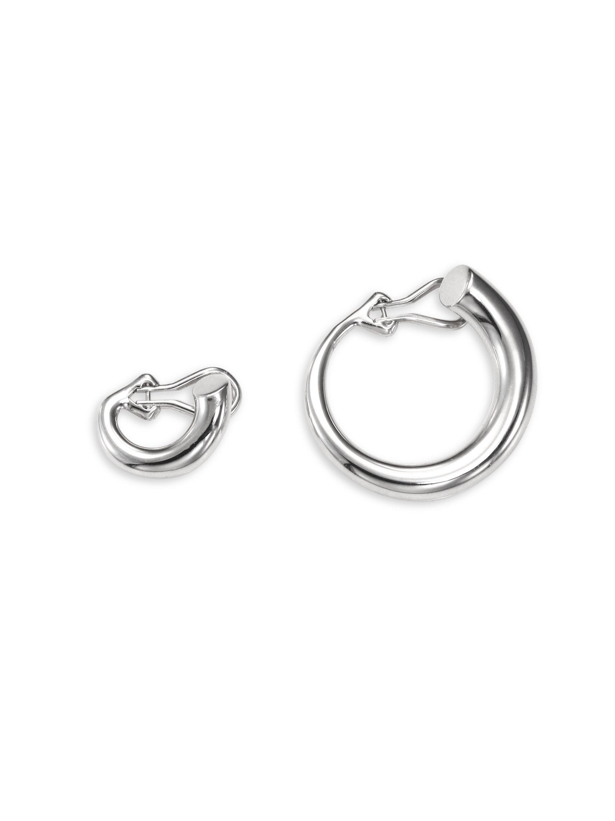 6b952ce31 Charlotte Chesnais Monie Small & Medium Sterling Silver Clip-on ...