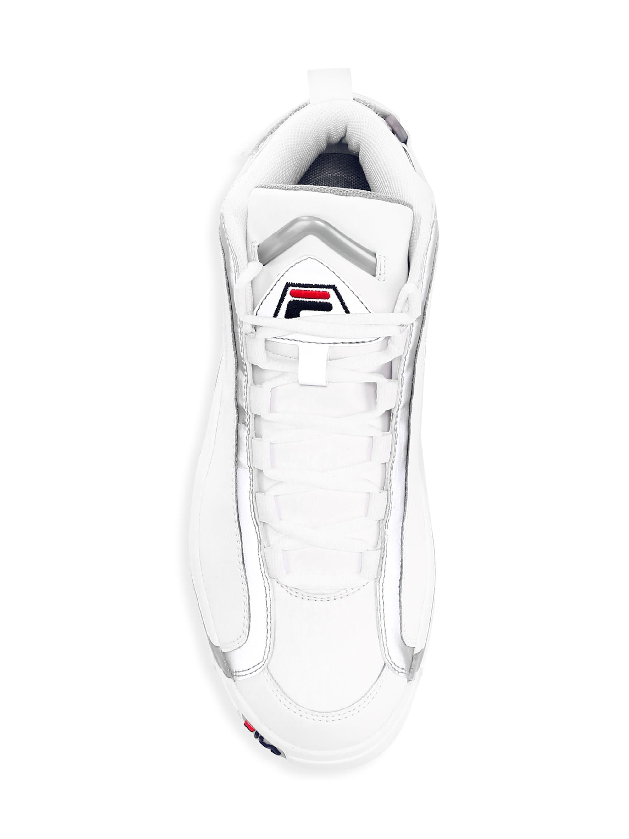 Men's Grant Hill 96 Sneakers White Size 8