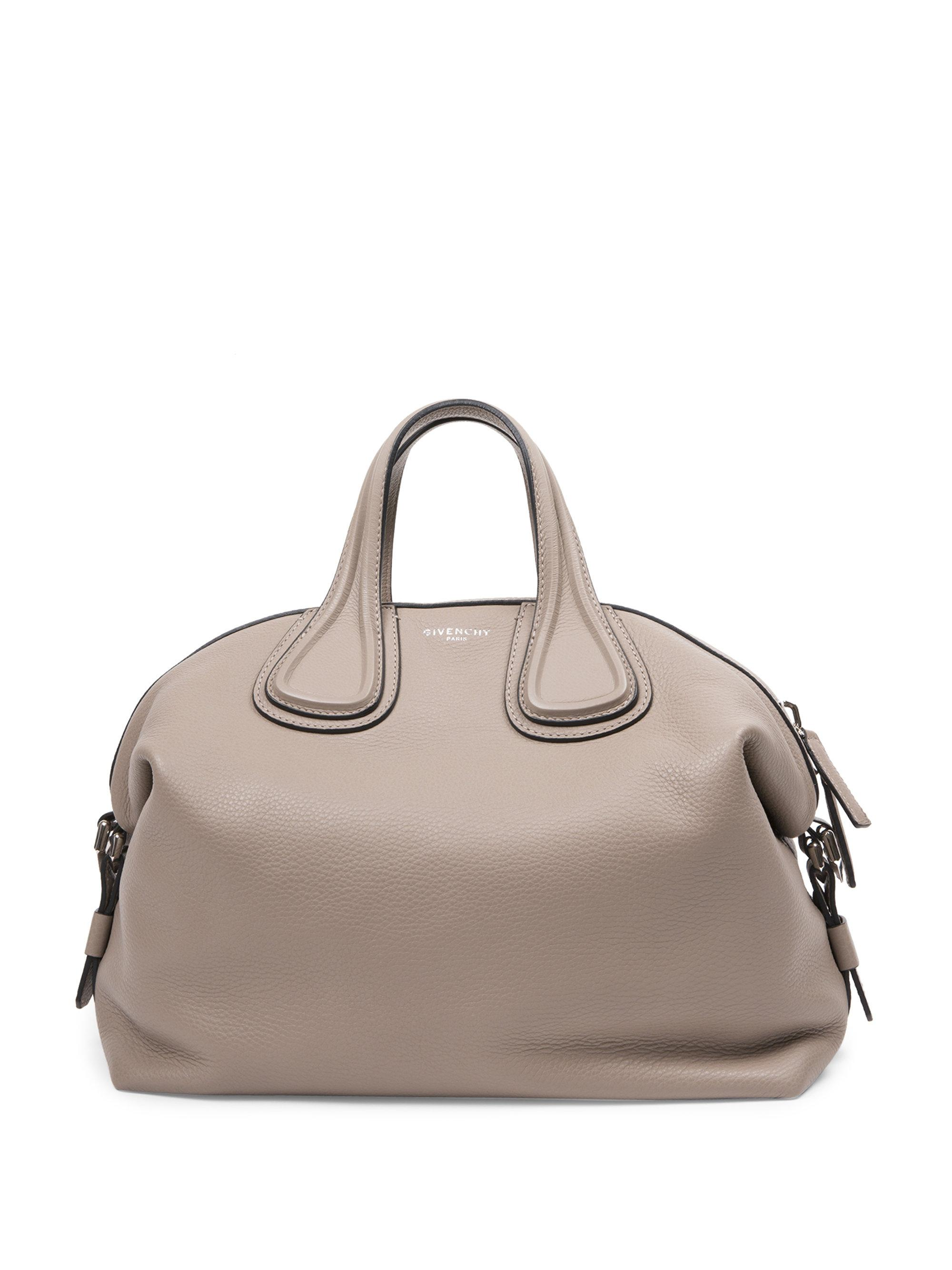 c8e550e736 Lyst - Givenchy Nightingale Small Satchel in Gray