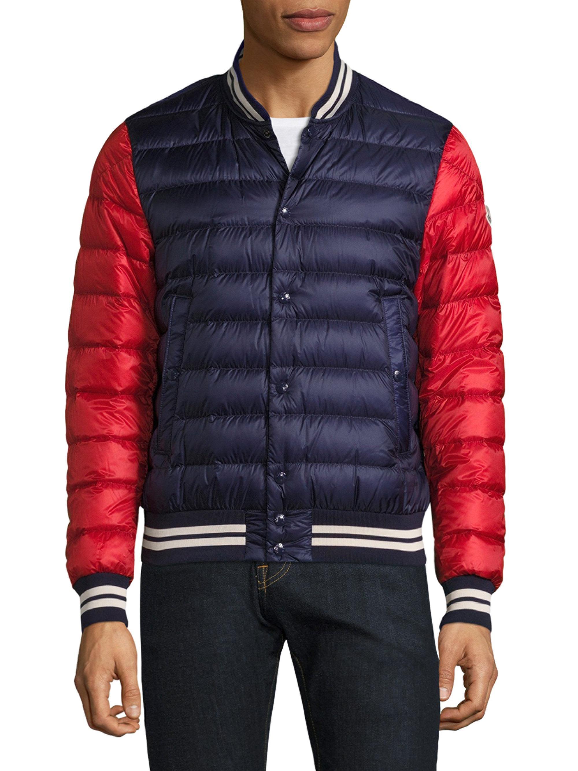 dbecedb3a wholesale moncler varsity jacket mens 7c263 195fc