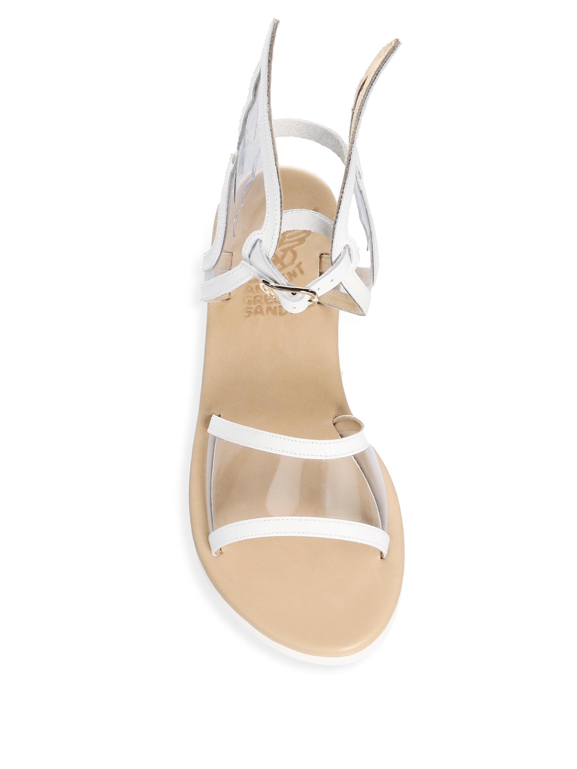 Ancient Greek Sandals Fun Ikaria Leather Gladiator Sandals oV77f7c9mP