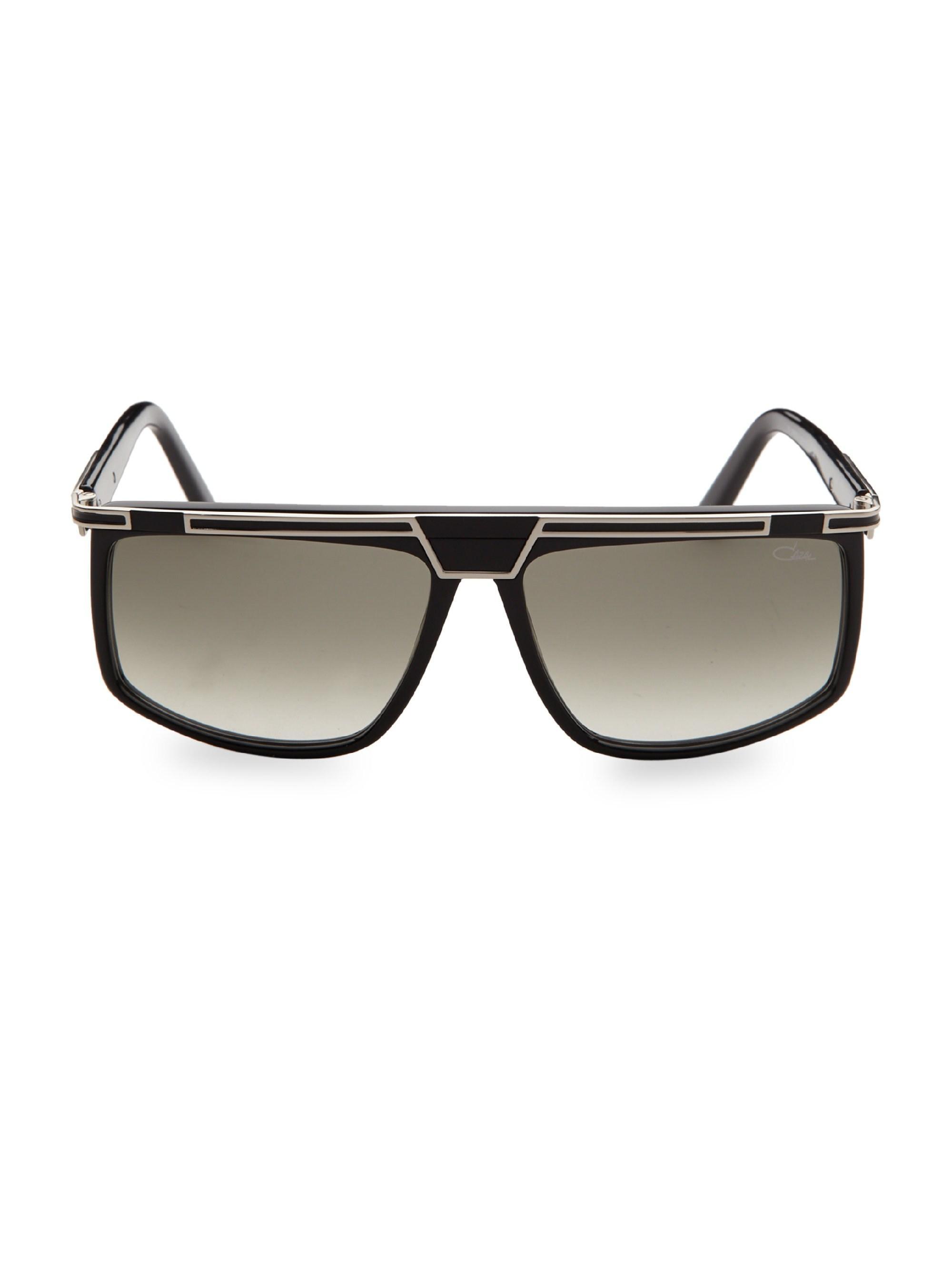 42c6572f812 Lyst - Cazal Oversized Bar-top Sunglasses in Metallic
