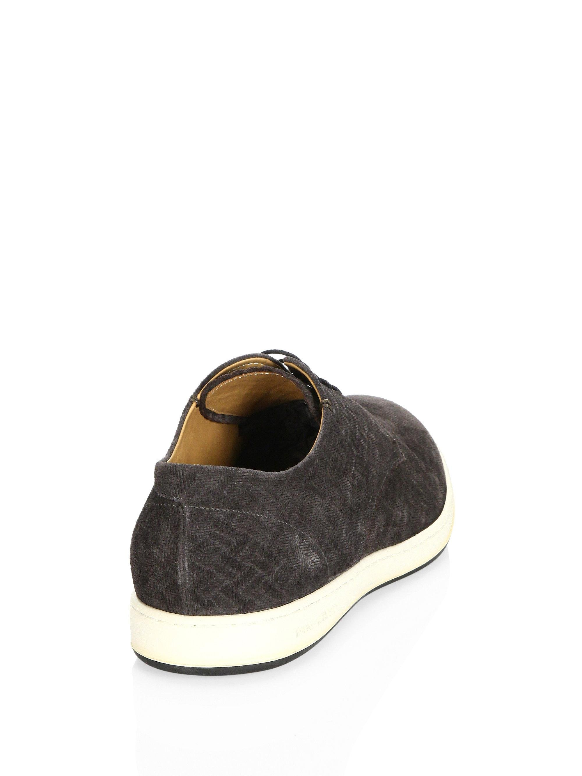 ArmaniClassic Suede Sneakers XPreE