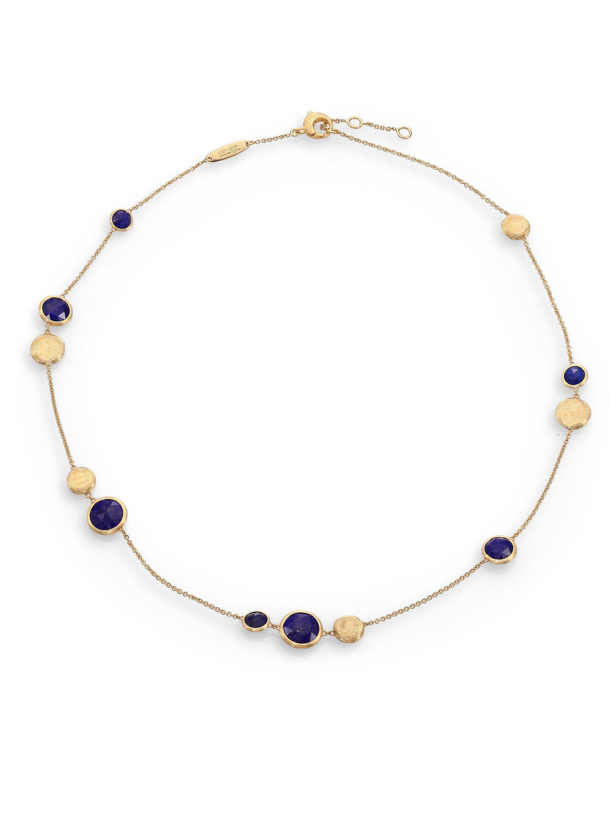 Marco Bicego Jaipur Tourmaline & Amethyst Collar Necklace tMHiMeA7F