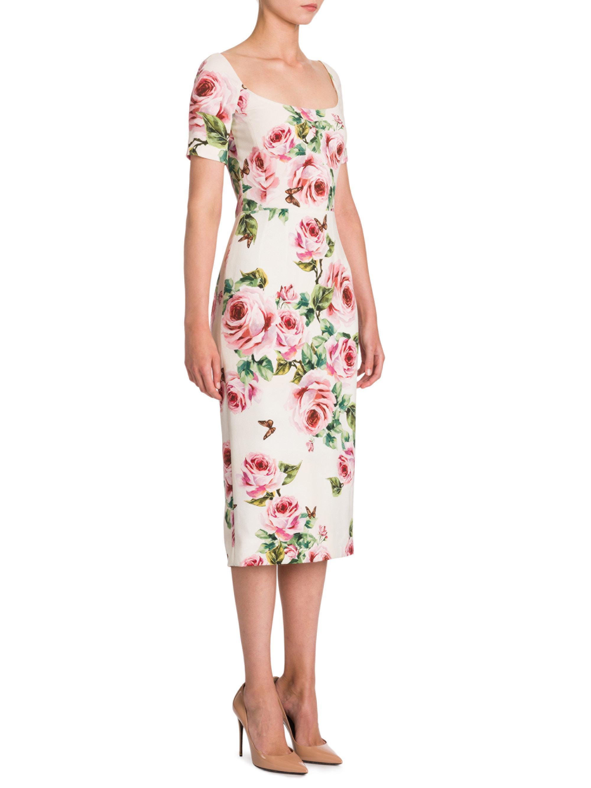 Dolce amp  Gabbana jewel print dress Buy Cheap Factory Outlet 79Bih ... 707024d88e