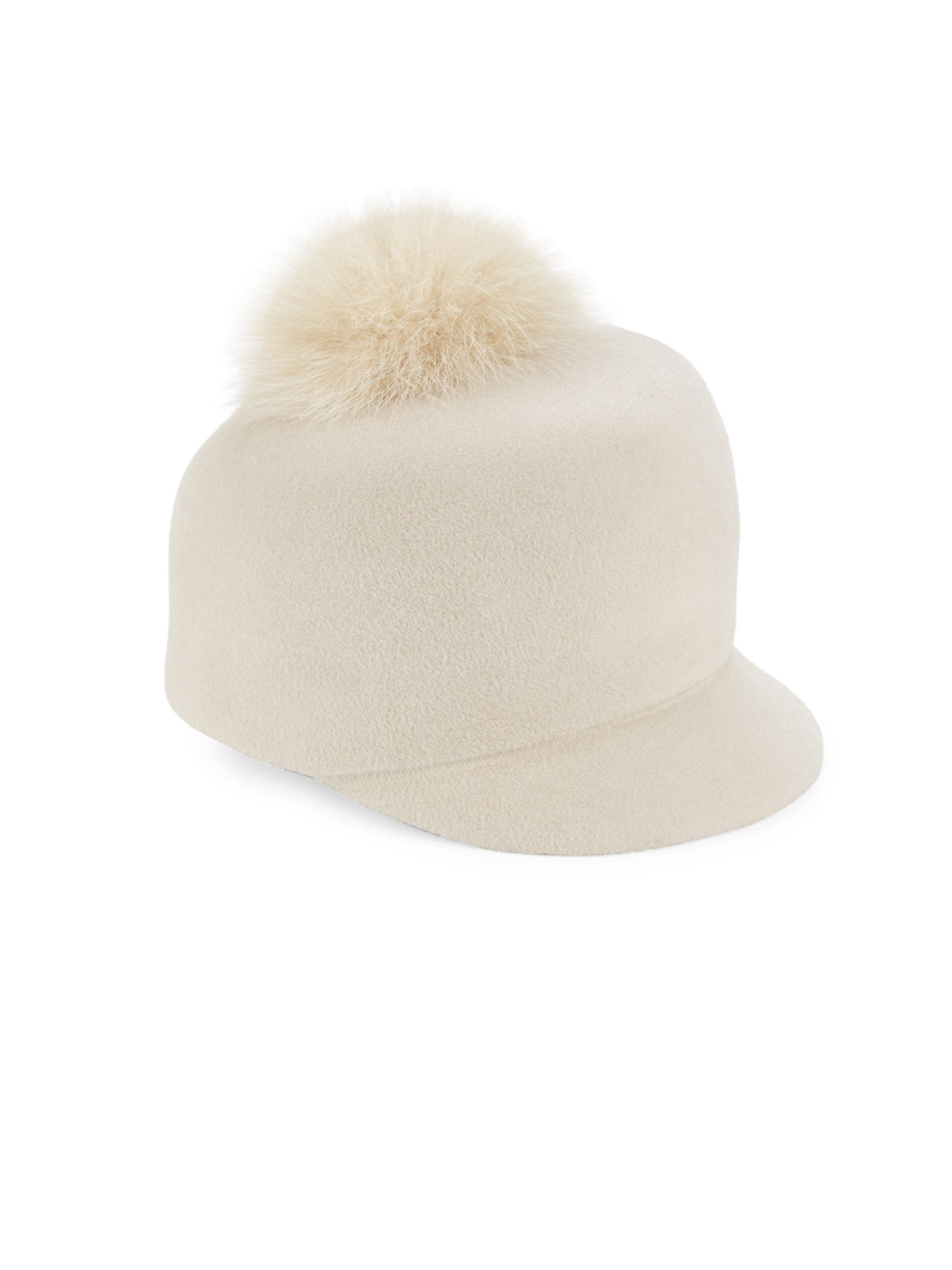 Womens Circa Pom Fur Hat Lola Hats 4YzRA9z