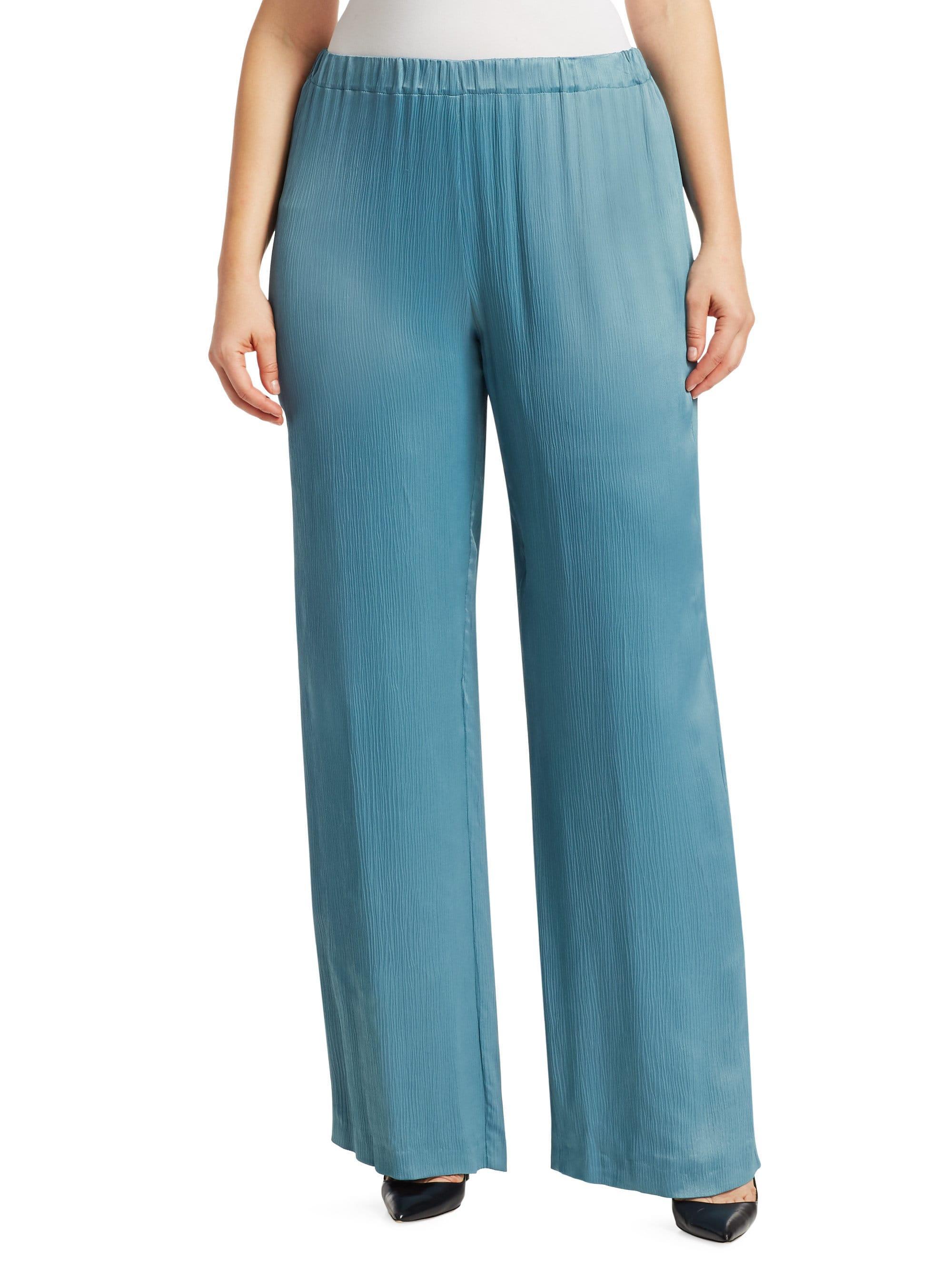 0fbb39014d1 Lyst - Marina Rinaldi Raul Straight-leg Pull-on Pants Plus Size in Blue