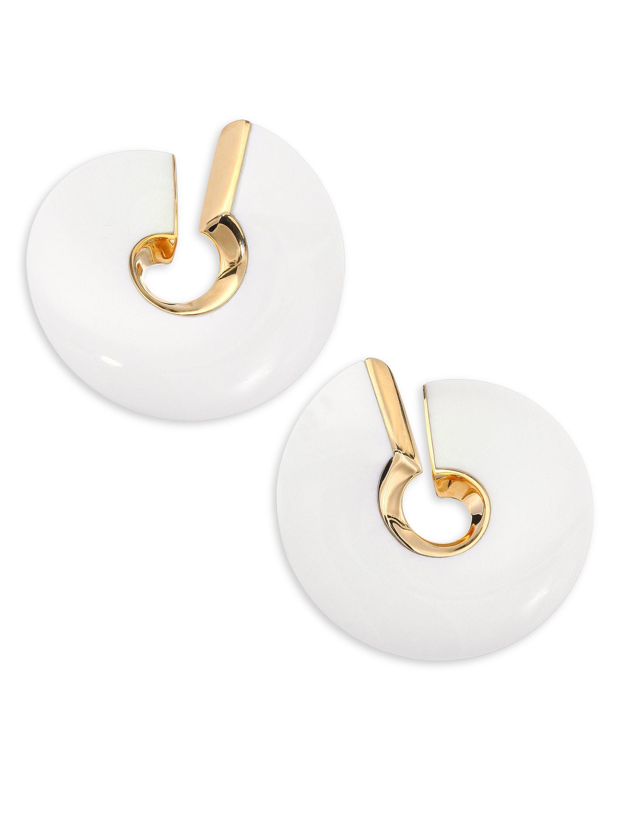 Vhernier Verso Grande Clip Earrings 66v08xcMP