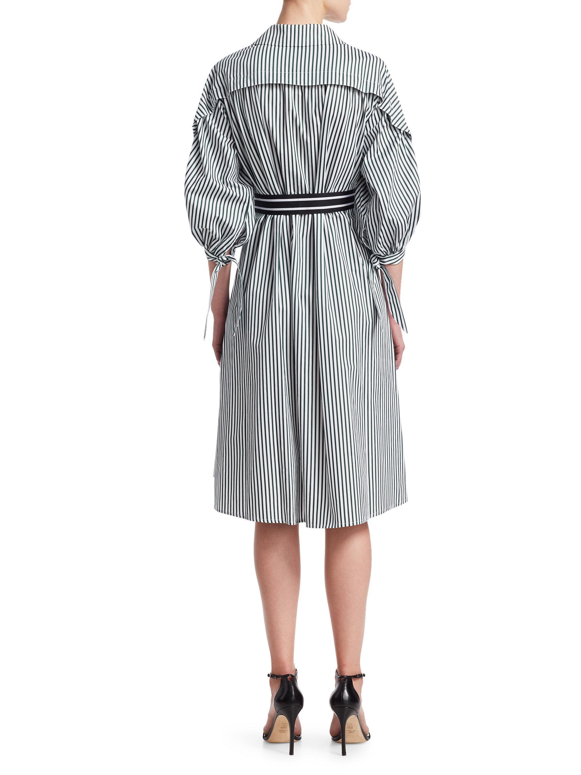 797b1c9f9bd Maje Rilucci A-line Shirt Dress - Lyst