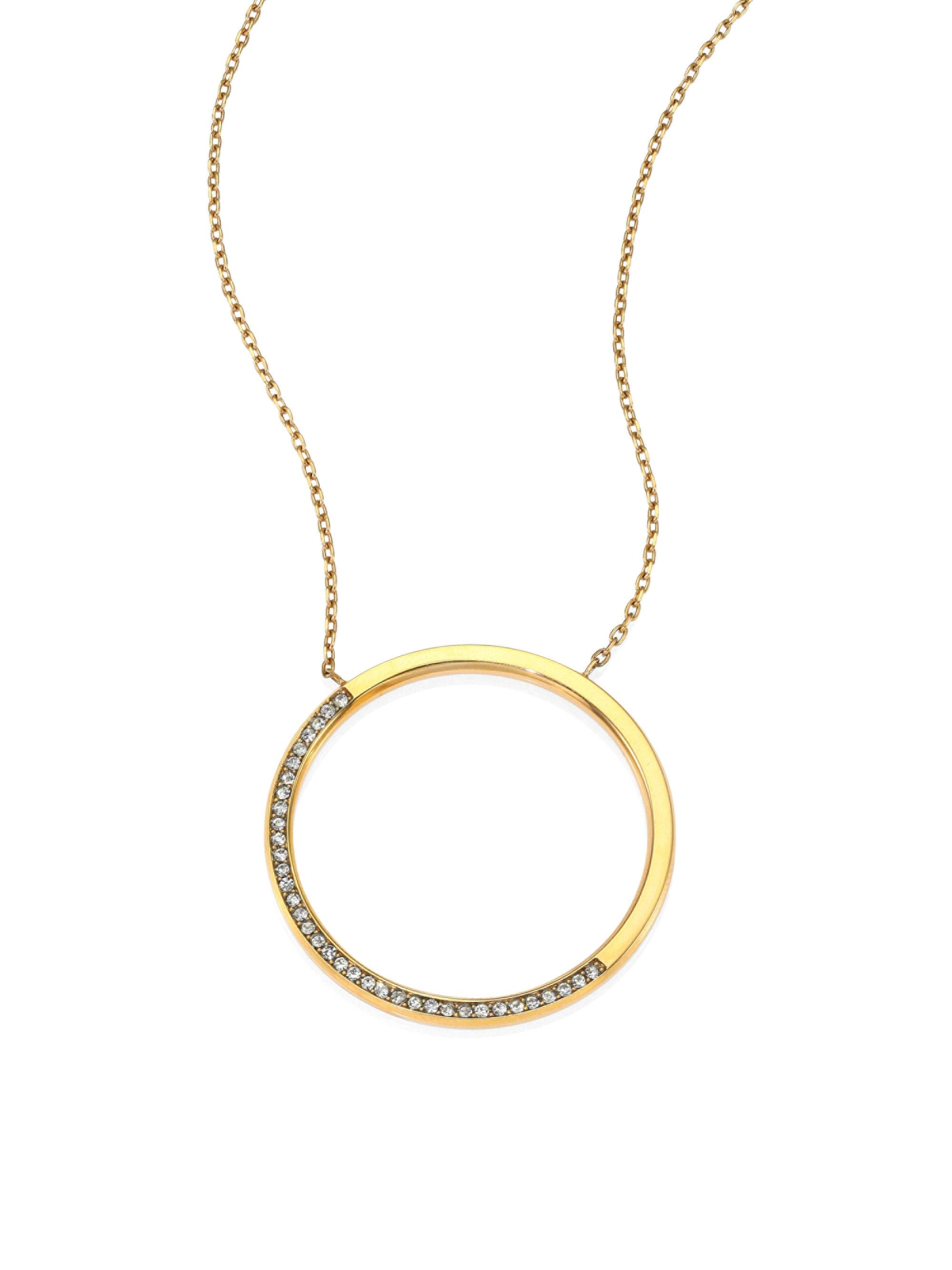 47bff91a70d08 Gallery. Previously sold at  Saks Fifth Avenue · Women s Michael Kors  Pendant