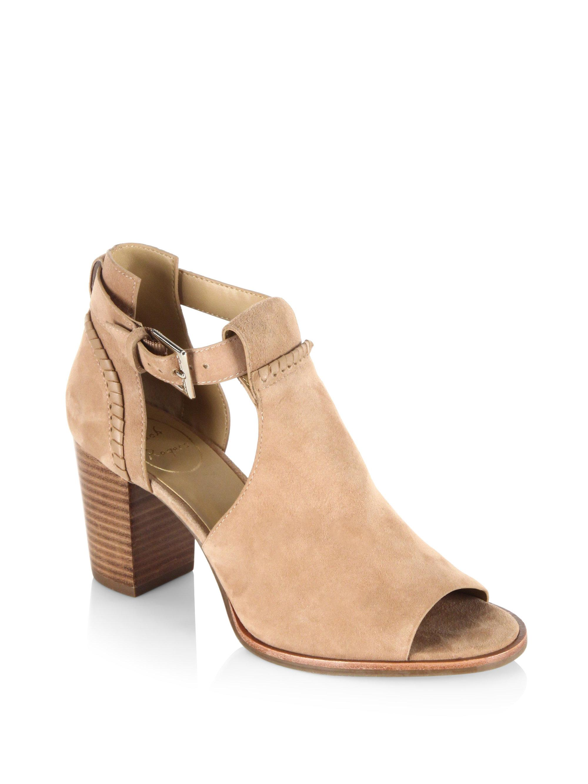 Jack Rogers Cameron Suede Embroidered Bootie angev