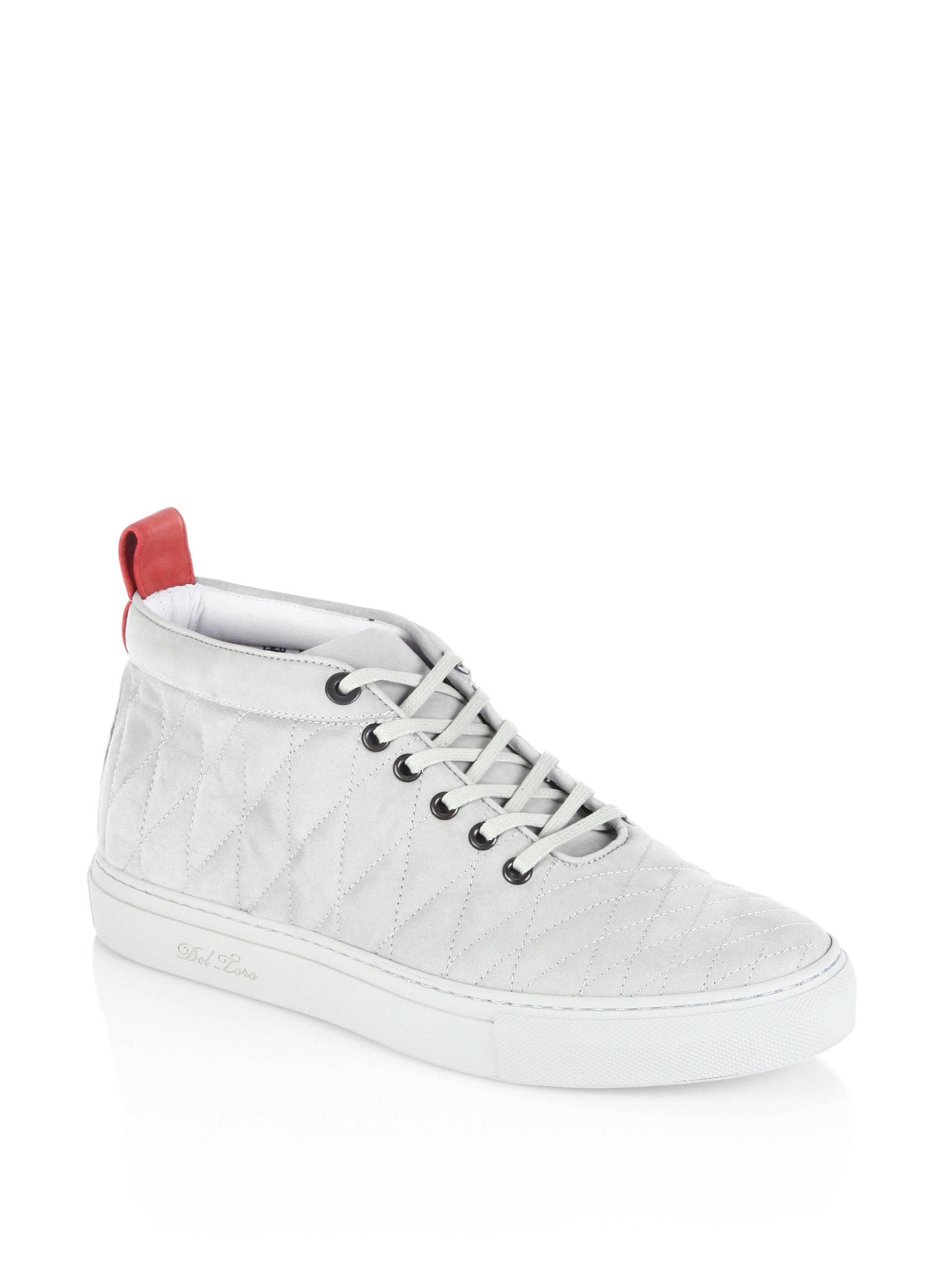 DEL TORO Alto Chukka Sneakers ALuupFM