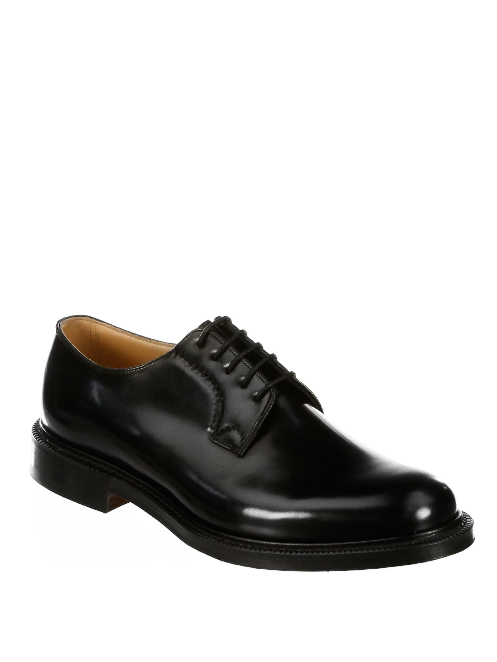 Church's Shannon Lace-Up Leather Oxfords zDTshRh