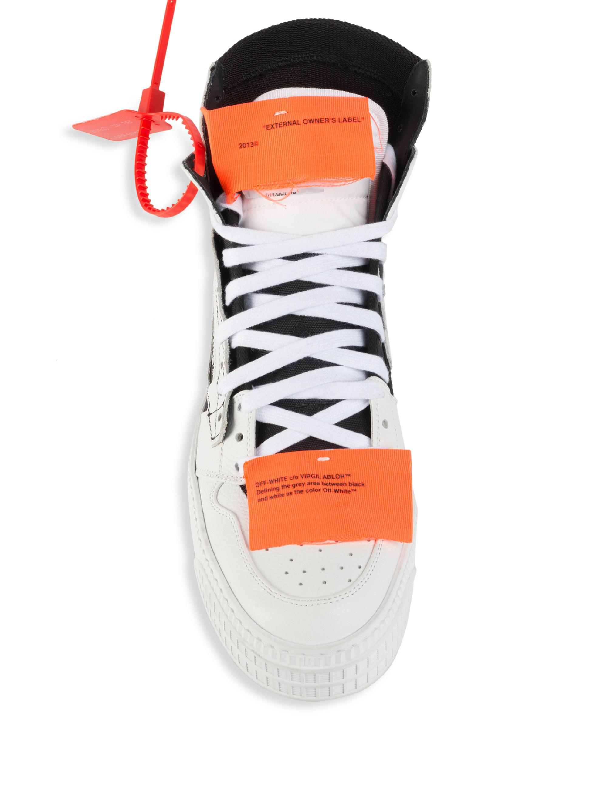 a422ac0118f8 Off-White c o Virgil Abloh Off Court Tumbled Sneakers for Men - Save 36% -  Lyst