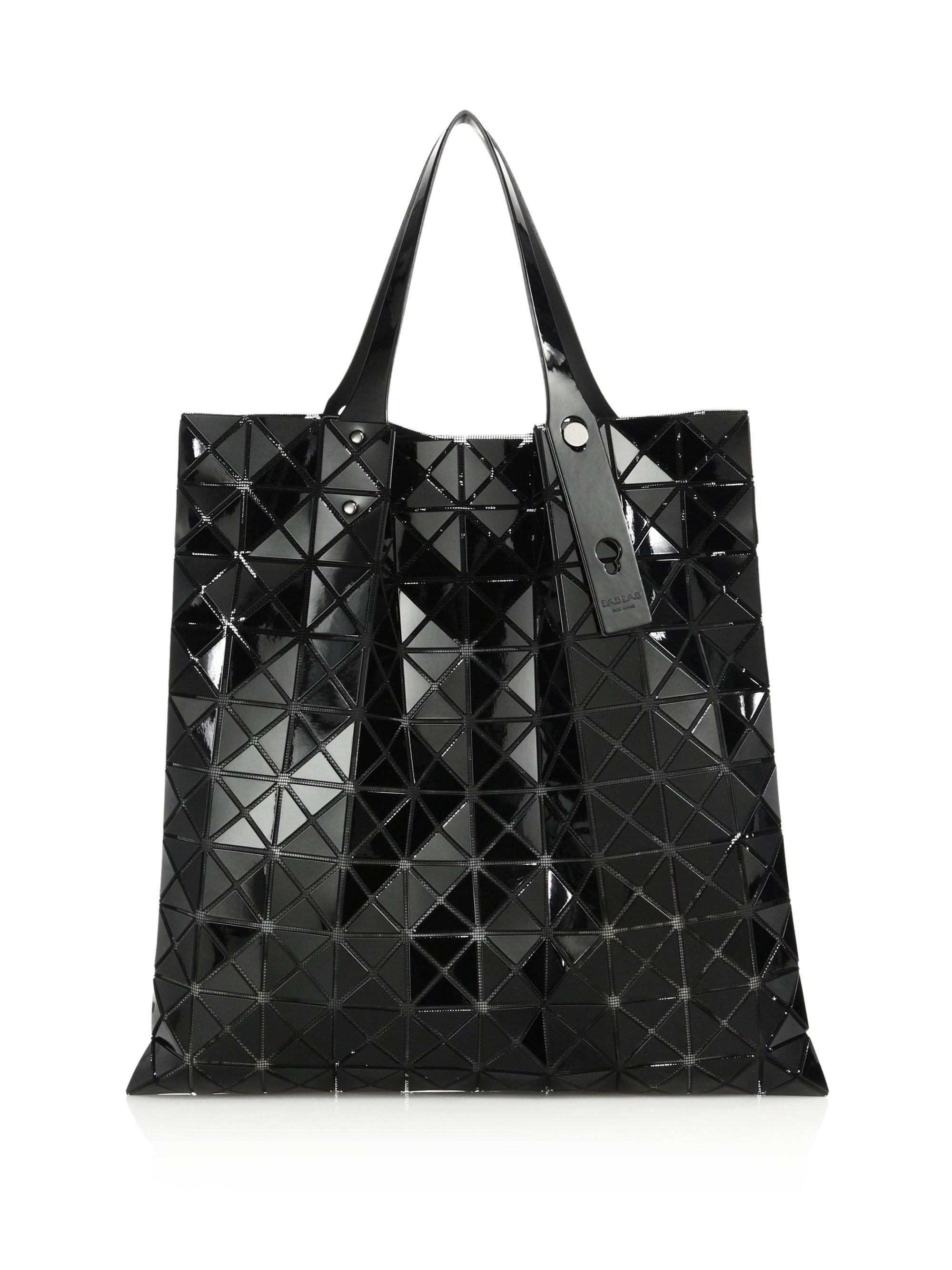 Lyst - Bao Bao Issey Miyake  prism  Tote in Black - Save 34% f60a6a79368b2