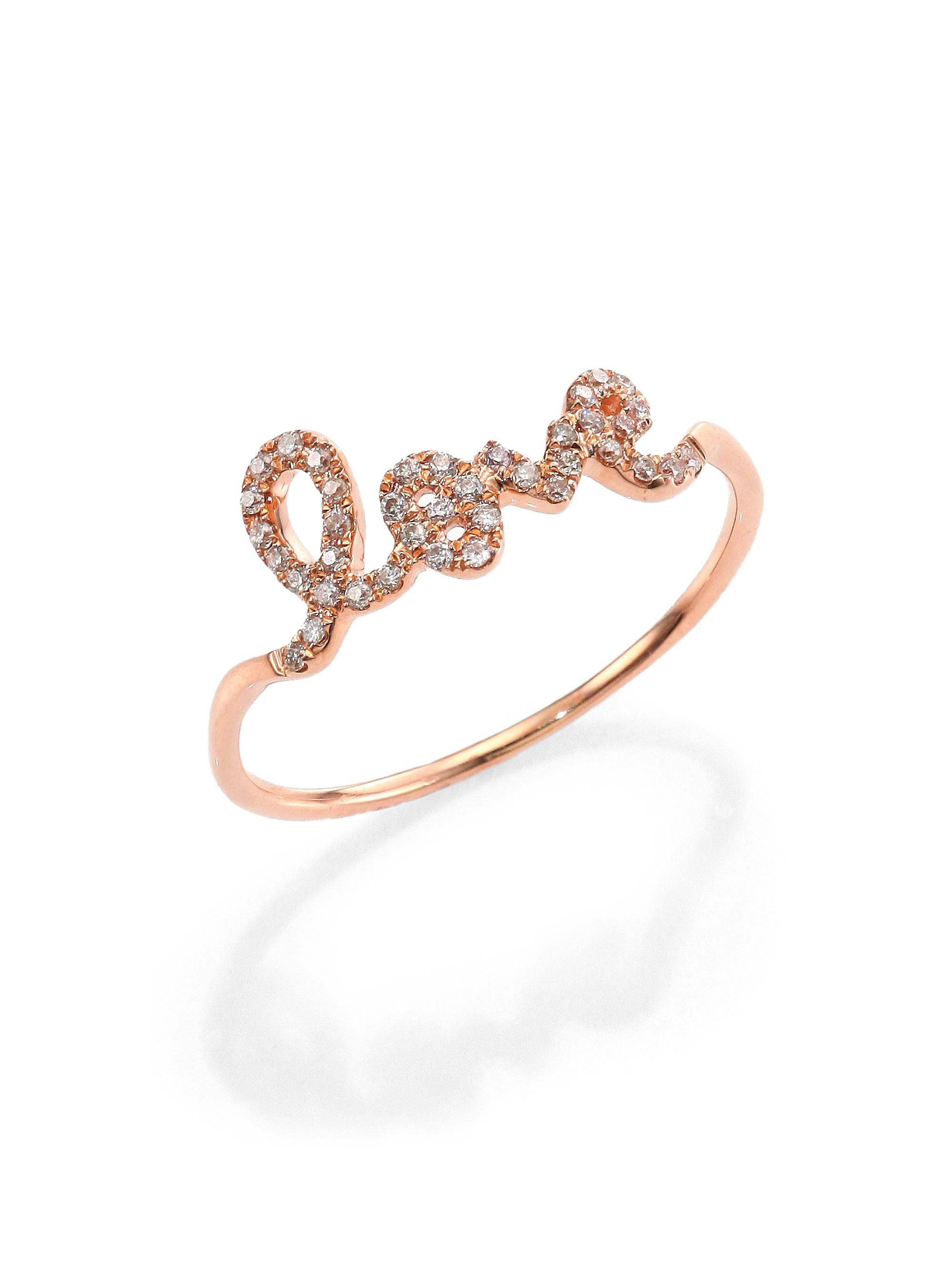 Sydney Evan 14k Gold Small Double Heart Ring rSEXMNT