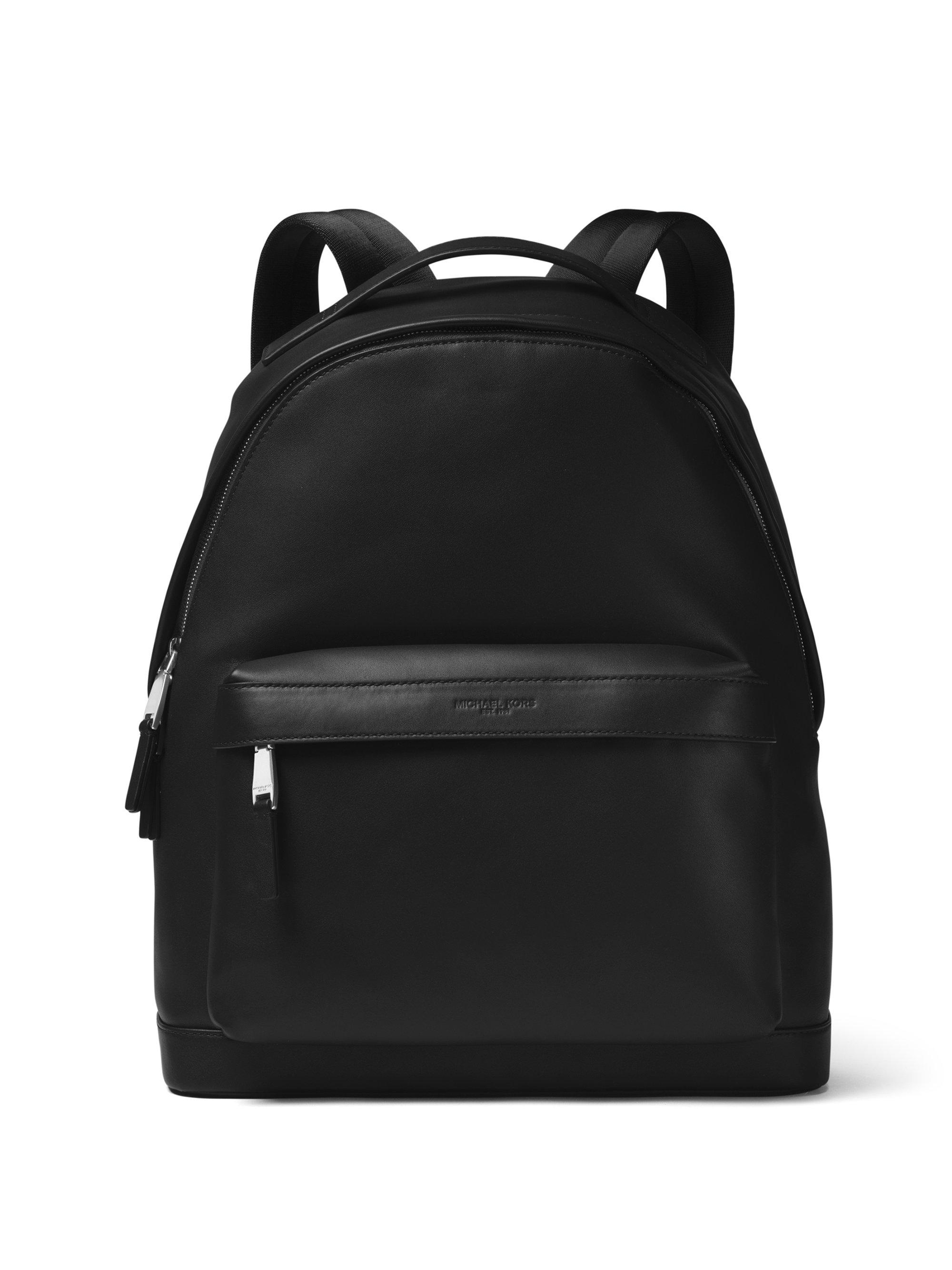 0a7d81c0b207 Michael Kors Men's Classic Leather Backpack in Black for Men - Lyst