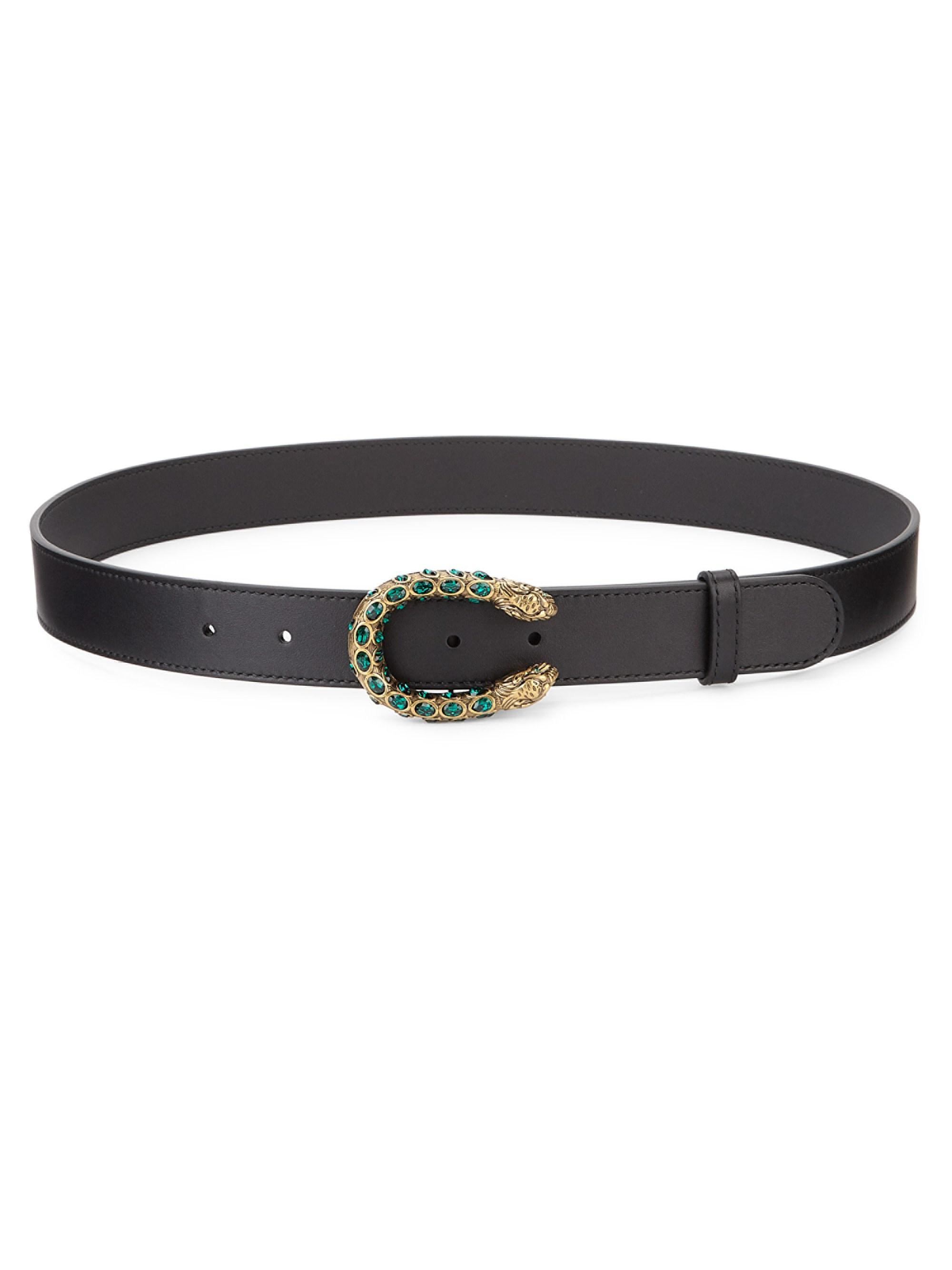 c95ecf314ec Gallery. Previously sold at  Saks Fifth Avenue · Women s Leather Belts
