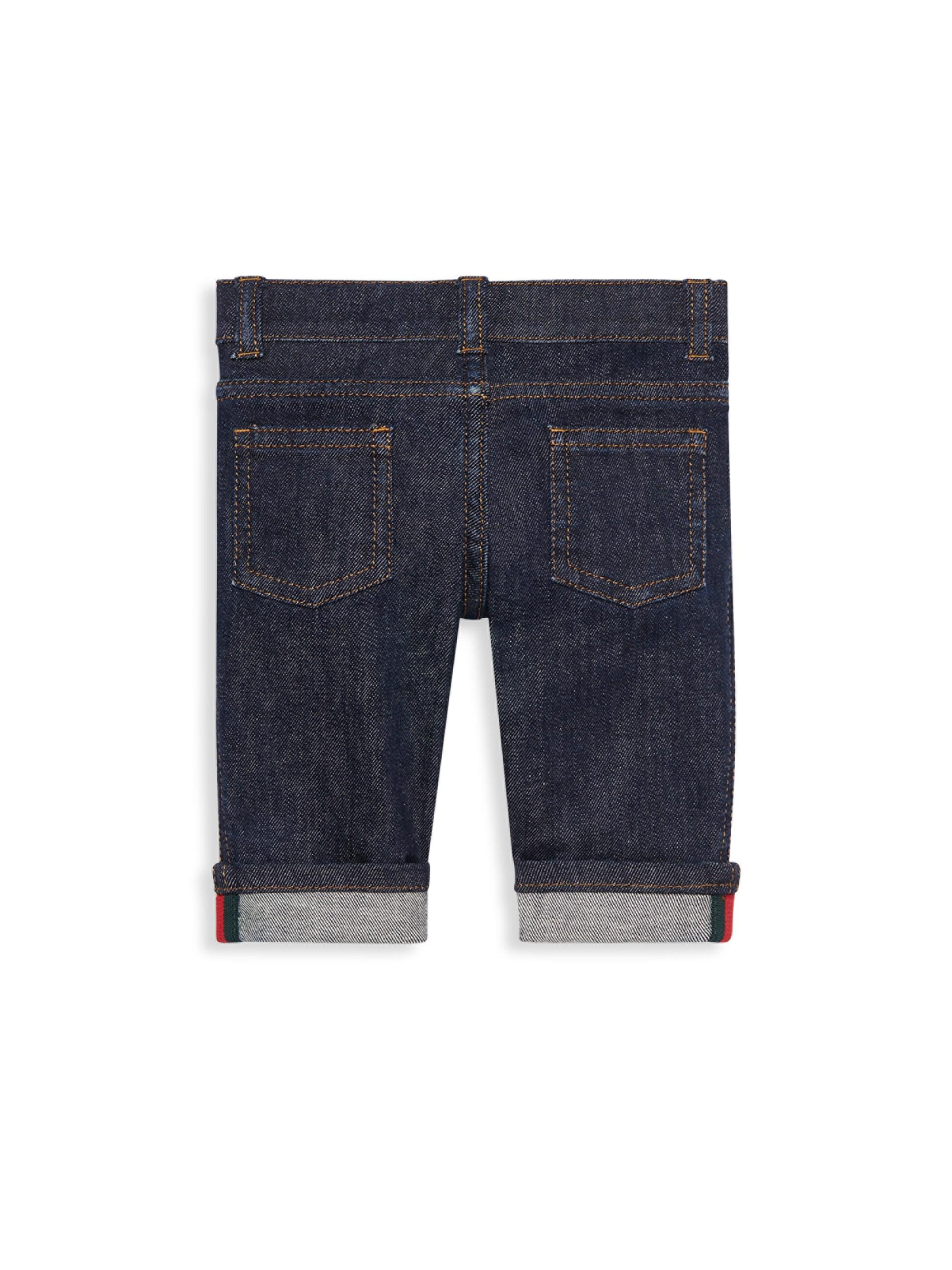 d2452cd57fb6 Lyst - Gucci Baby s Jeans - Indigo - Size 6-9 Months in Blue for Men