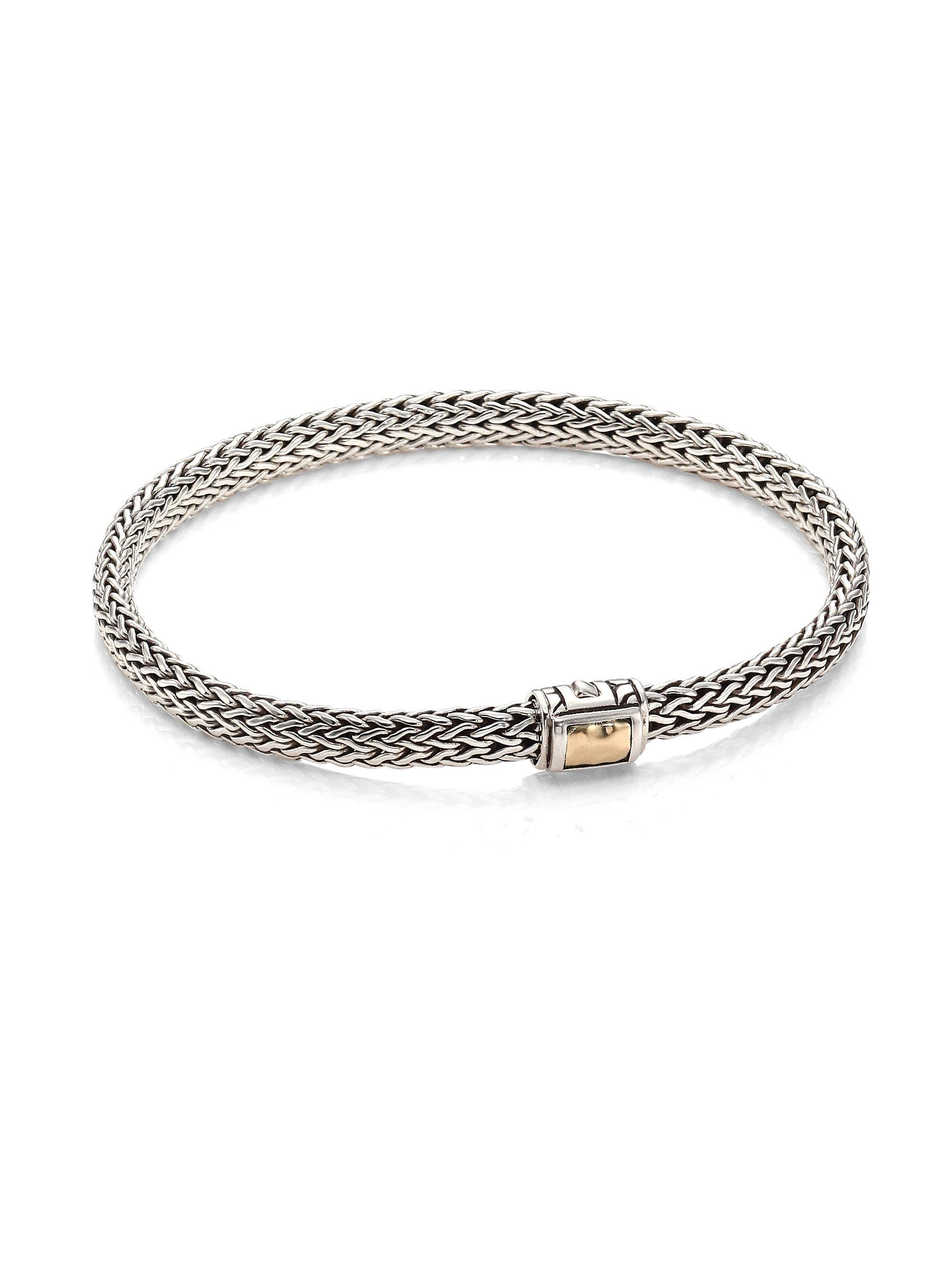 John Hardy Classic Chain Hammered Station Bracelet ktMHOwS0