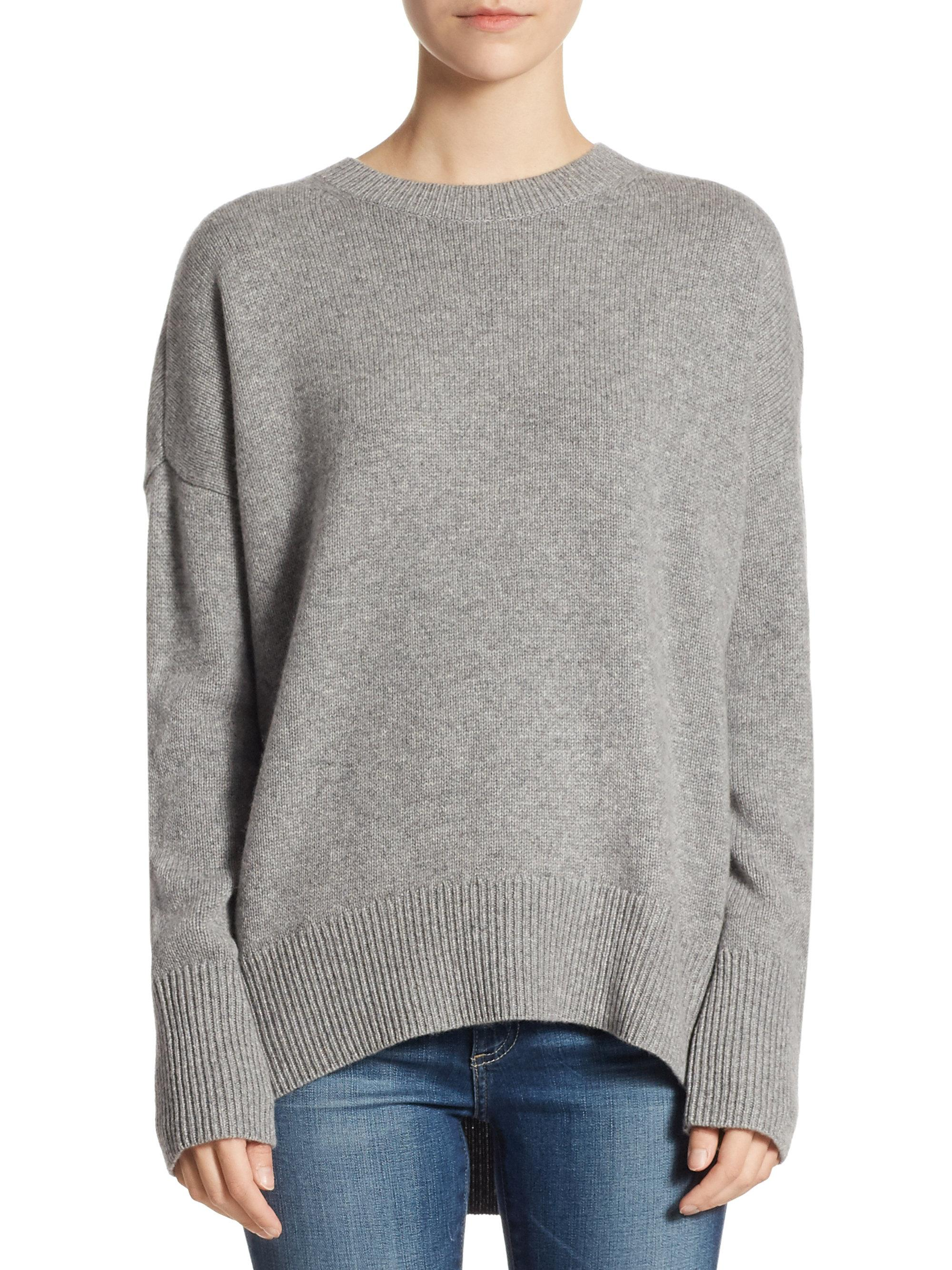 Karenia Cashmere Sweater - Gray Theory Clearance Browse Discount Outlet RzMTUp8