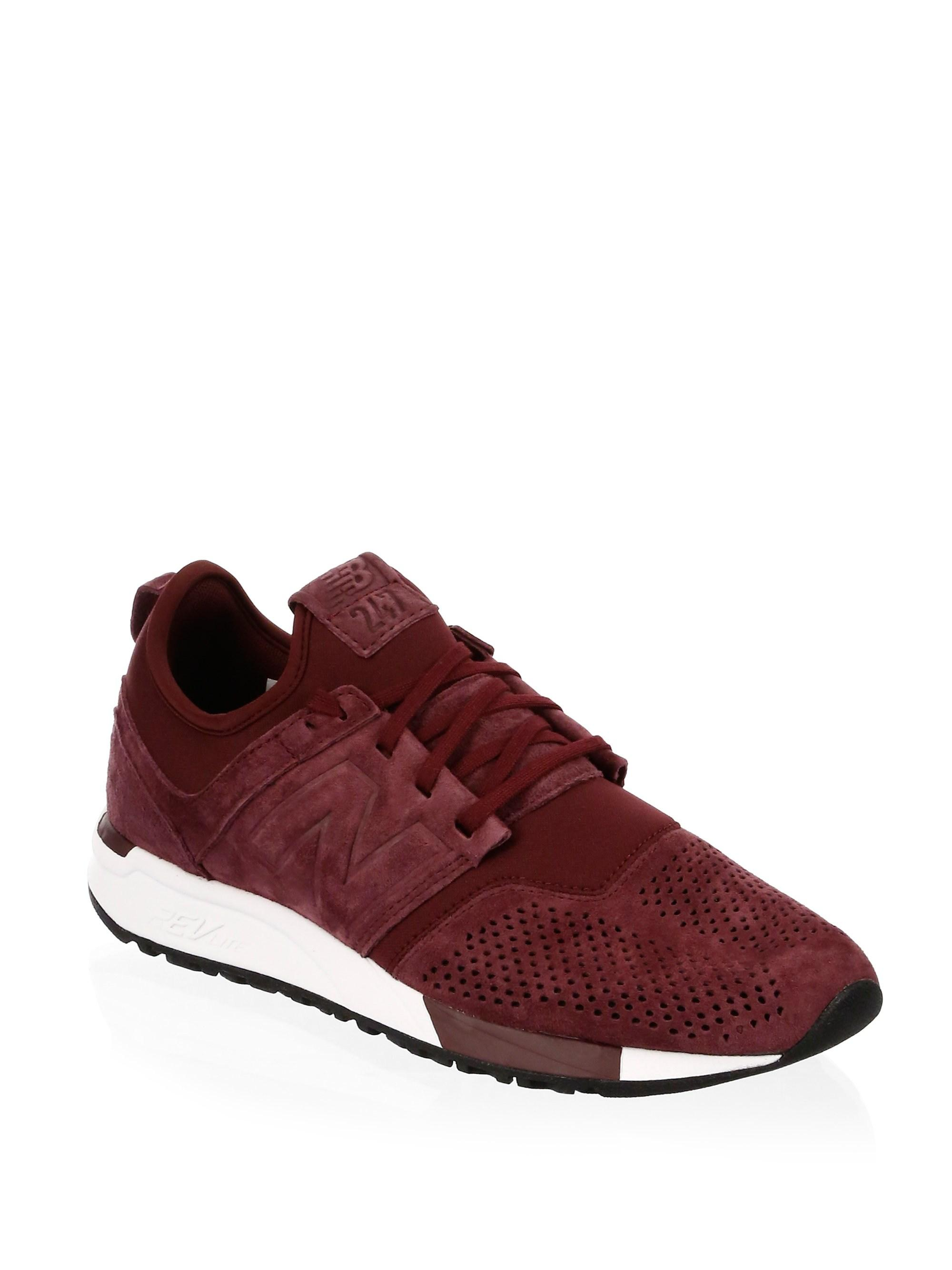 275a9a853a889 Lyst - New Balance Men's 247 Suede Casual Sneakers From Finish Line ...