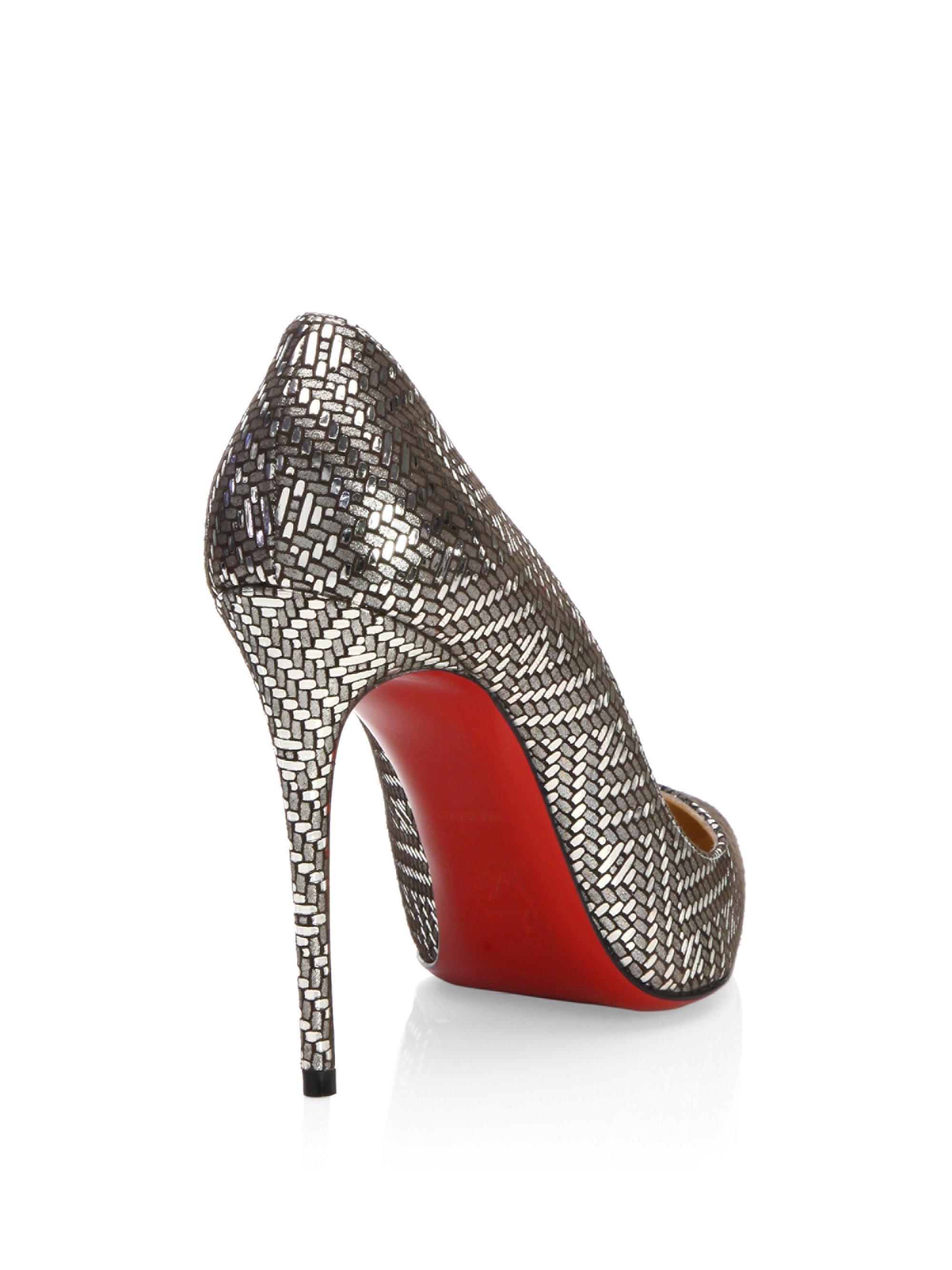 Louboutin Shoes Women Red