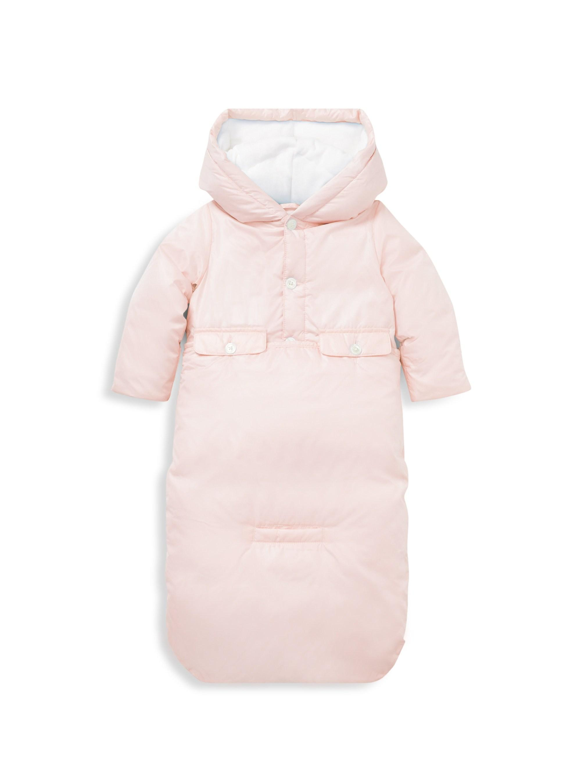 f6246be4b763 Lyst - Ralph Lauren Baby Girl s Quilted Jacket   Bunting Two-piece ...