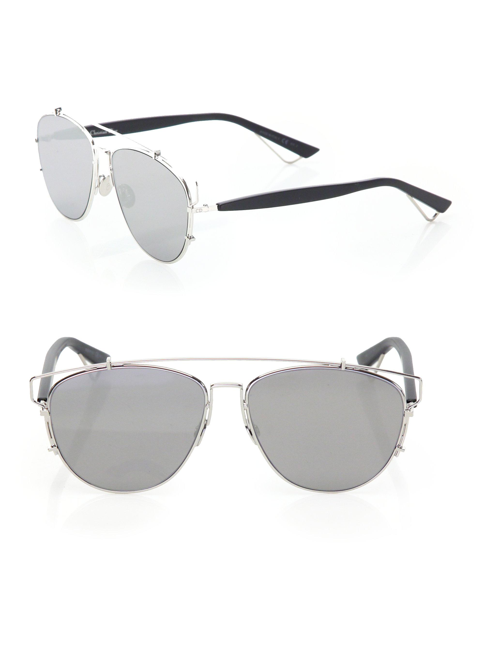 Lyst - Dior Technologic 57mm Pantos Sunglasses in Metallic 518e38ddb433