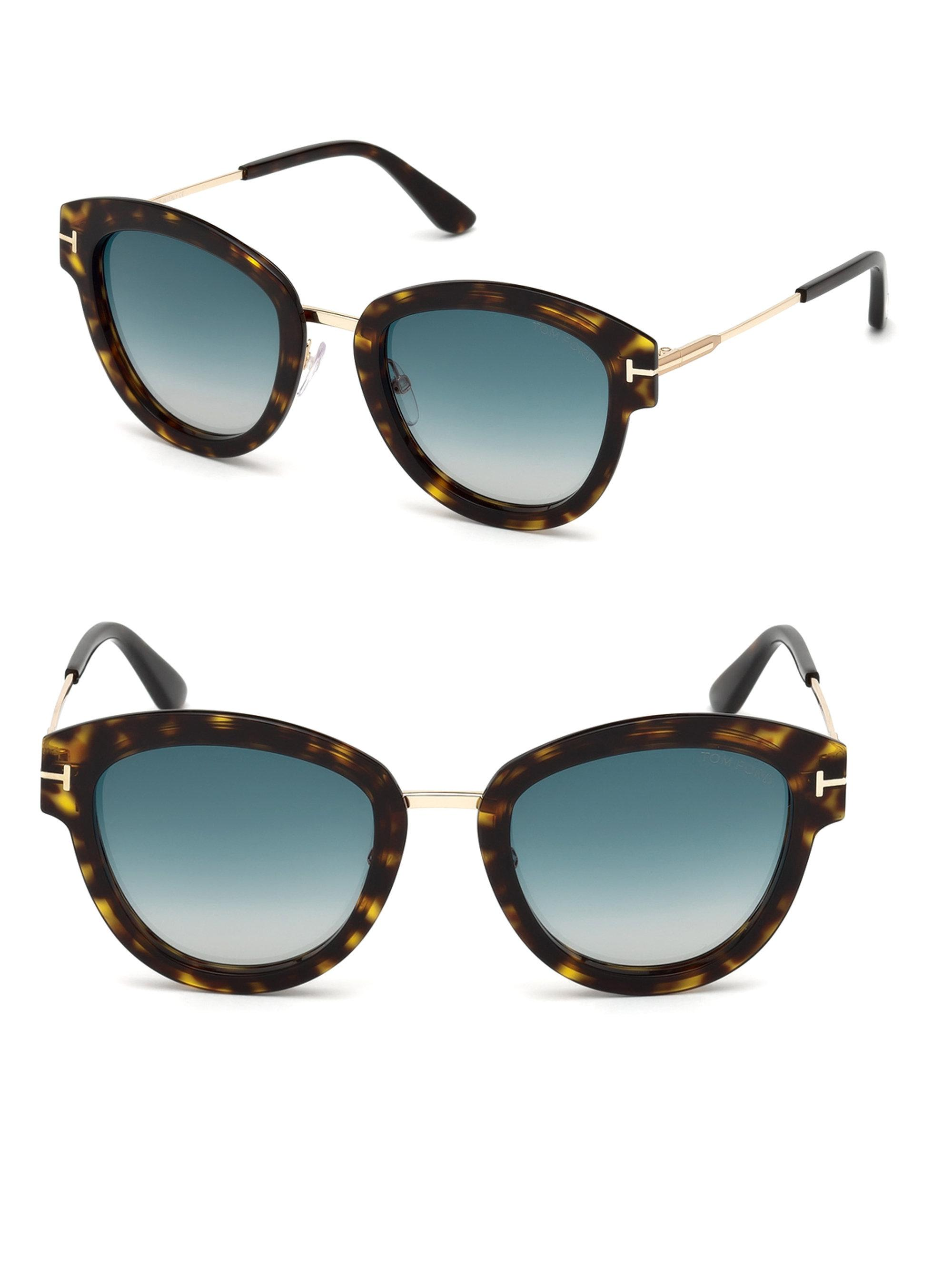 ab93ffa231 Tom Ford. Women s Mia Cat Eye Sunglasses