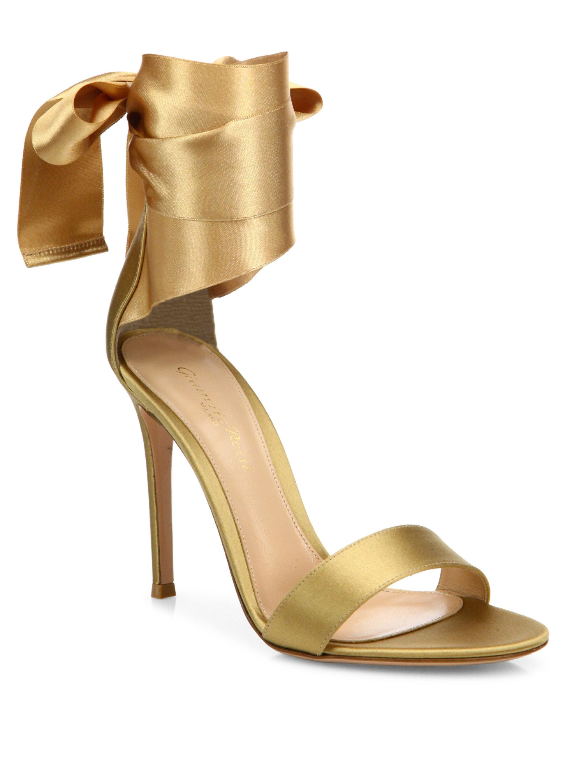 Gala sandals - Metallic Gianvito Rossi gUDu3A