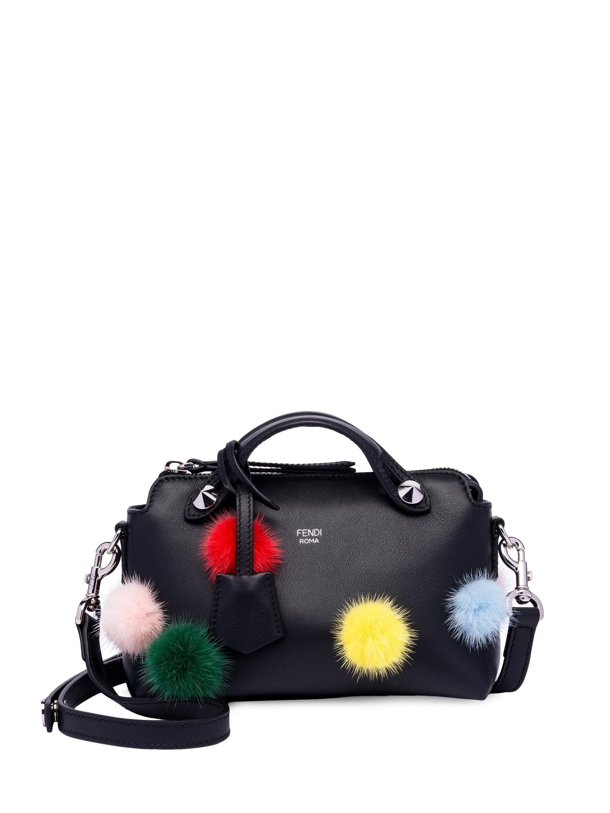 Fendi By The Way pom pom tote Clearance New Arrival Popular Cheap Online Free Shipping Fashionable Discount Really gLS44F