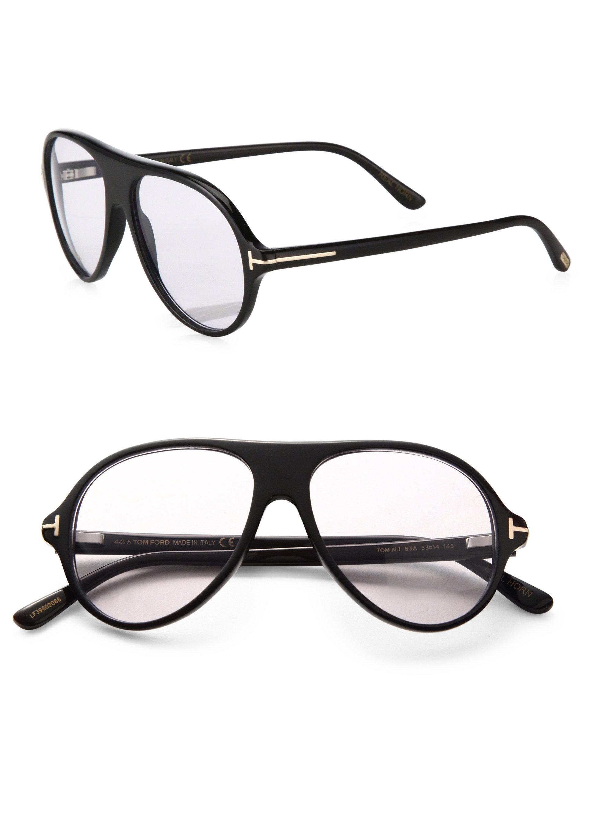 943c25f07c8 Lyst - Tom Ford Private Collection Tom N.1 Round Optical Glasses in ...