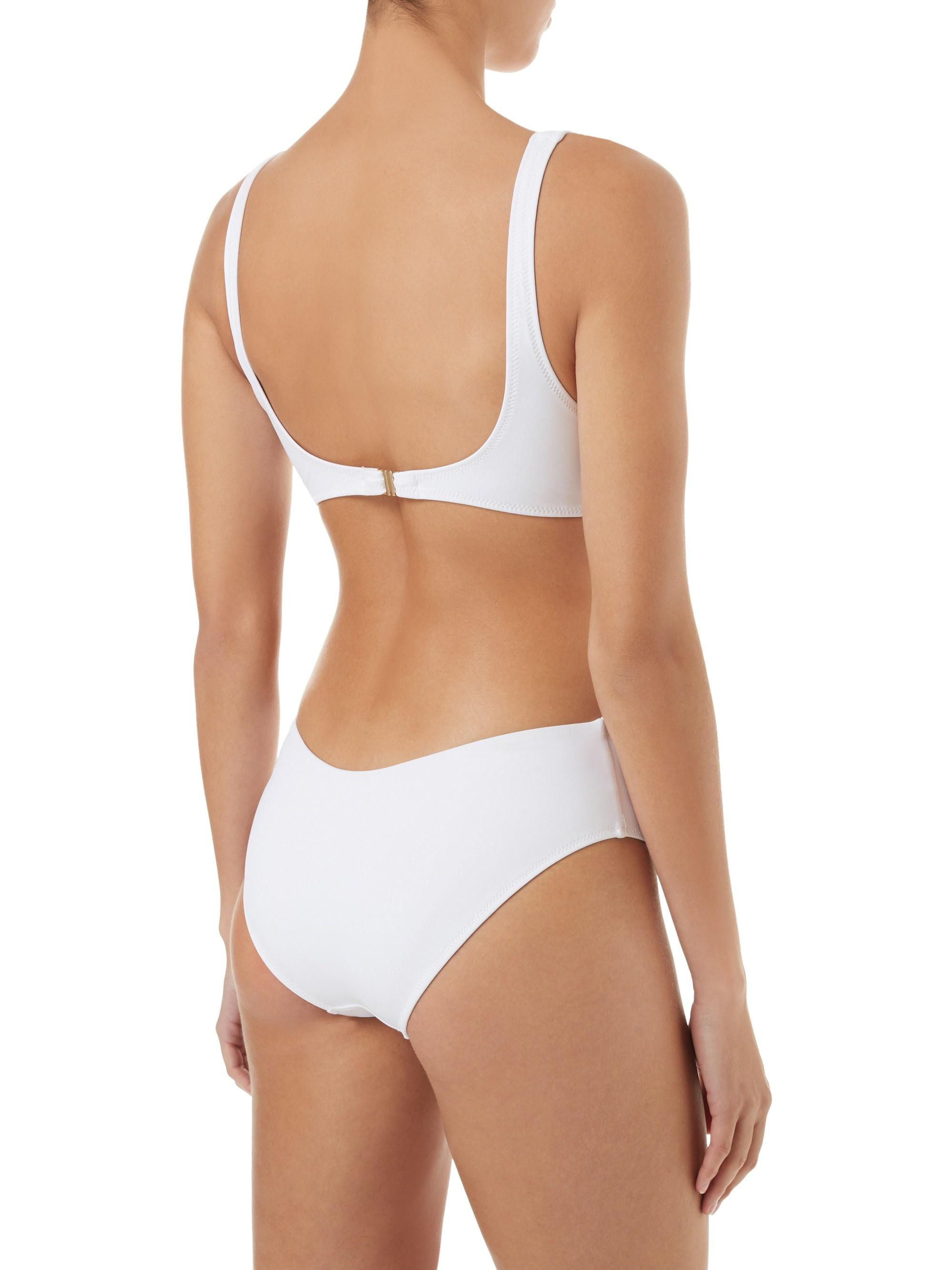 9d9aeca028 Melissa Odabash - Women s Del Mar Cut Out One-piece Swimsuit - White - Size.  View fullscreen