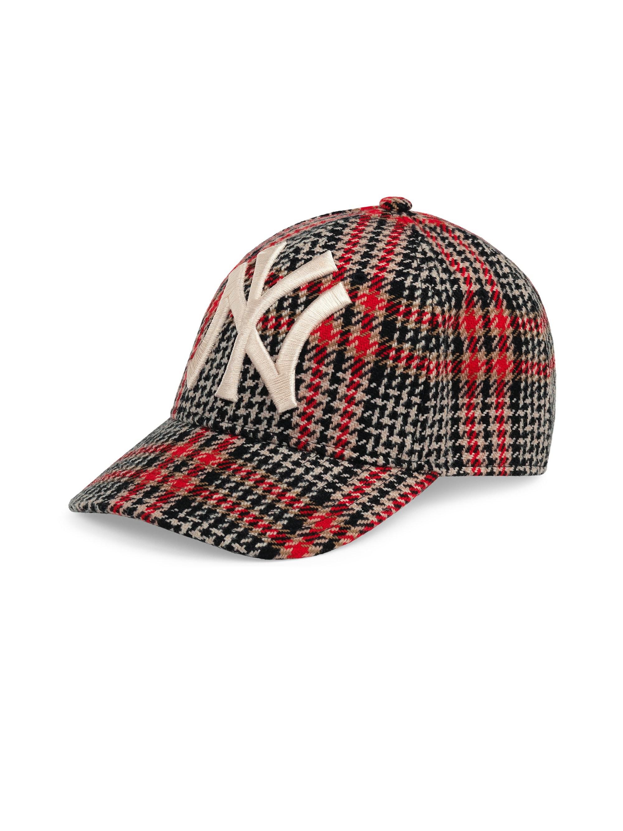 73961567577 Gucci New York Yankees Diamante Baseball Cap in Red for Men - Save 4 ...