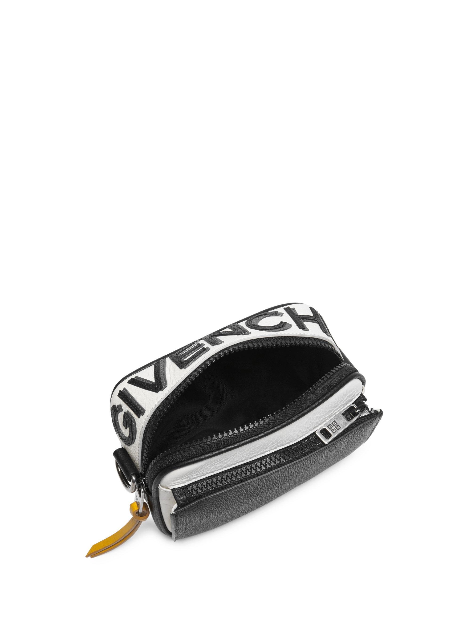 Givenchy - Black Colorblocked Leather Crossbody Bag for Men - Lyst. View  fullscreen fffb1963d6