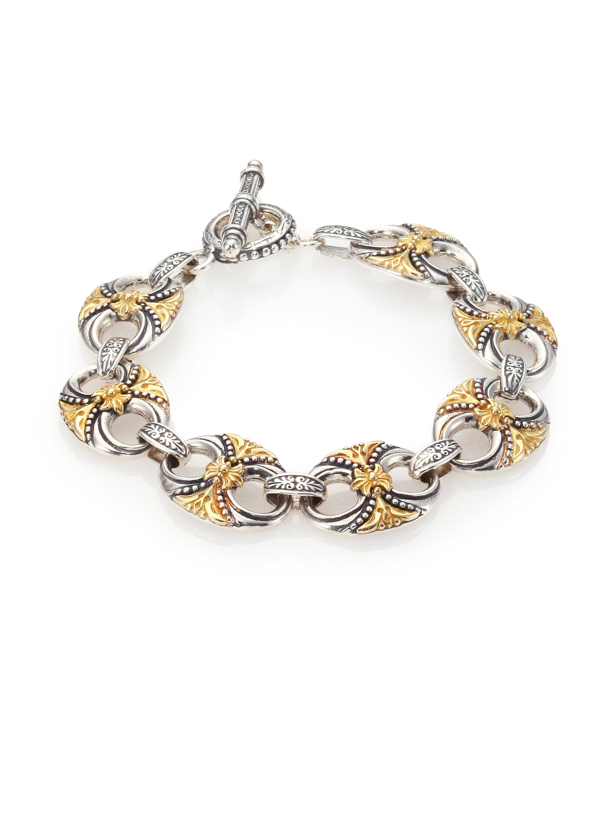 quick mz th look jewelry konstantino bracelet cross neiman marcus