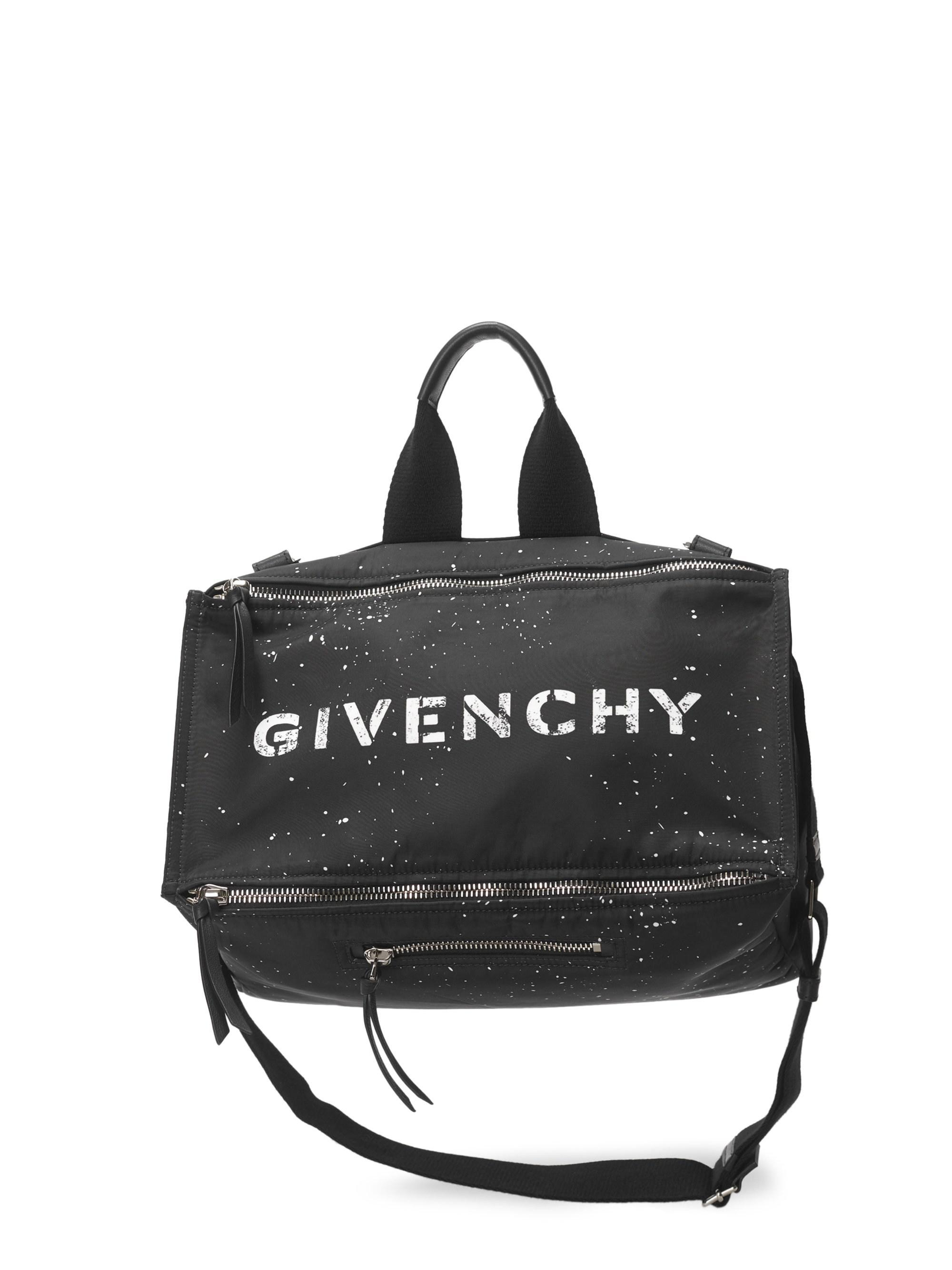8c11d983b6 Givenchy - Black Pandora Messenger Bag for Men - Lyst. View fullscreen