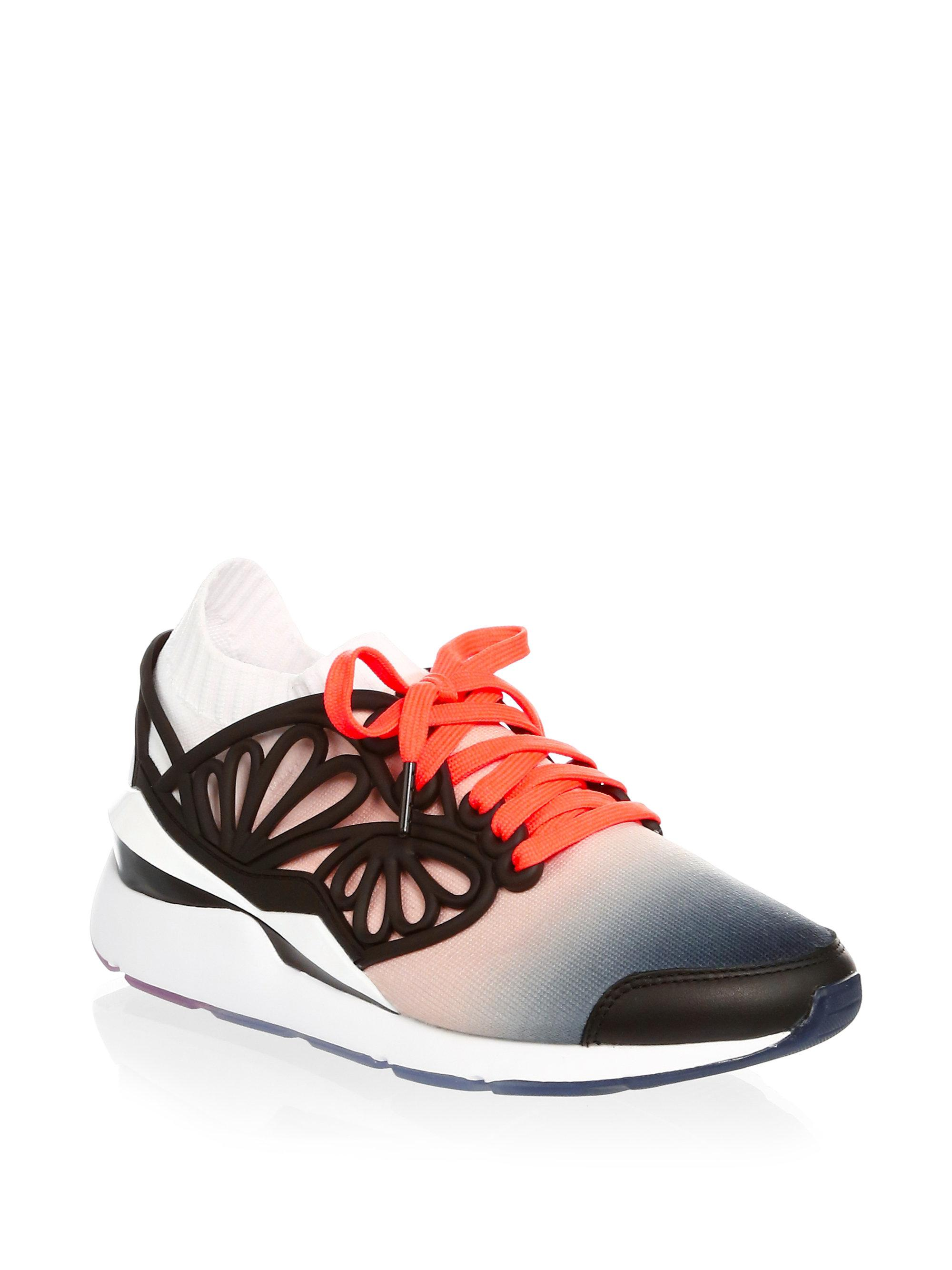 Puma Pearl Cage Fade Leather Sneakers 3sXQ0sRul