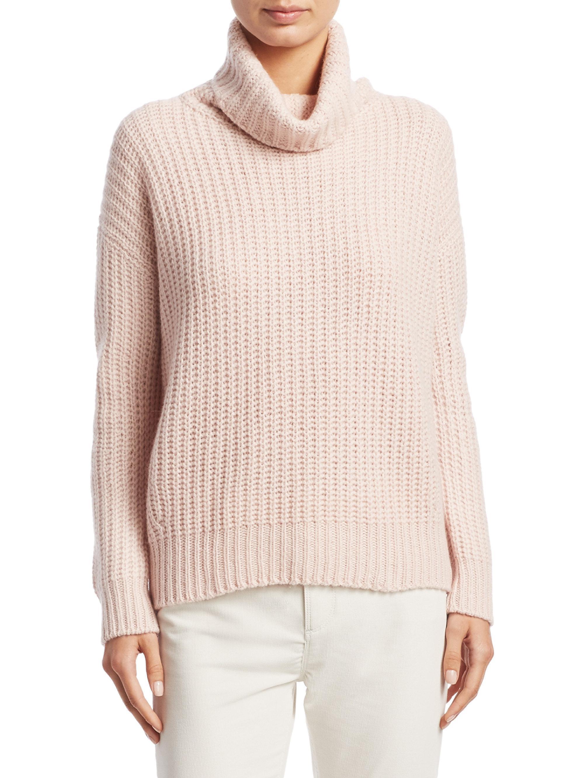 5aed31e40019 Lyst - Loro Piana Davenport Cashmere Turtleneck Sweater in Pink