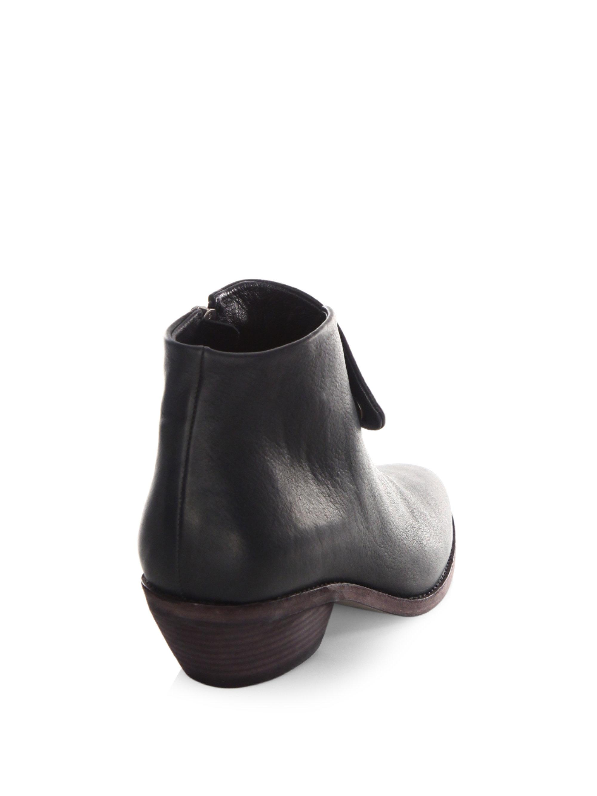 LD Tuttle The Spectre Leather Booties lTUvEDYS