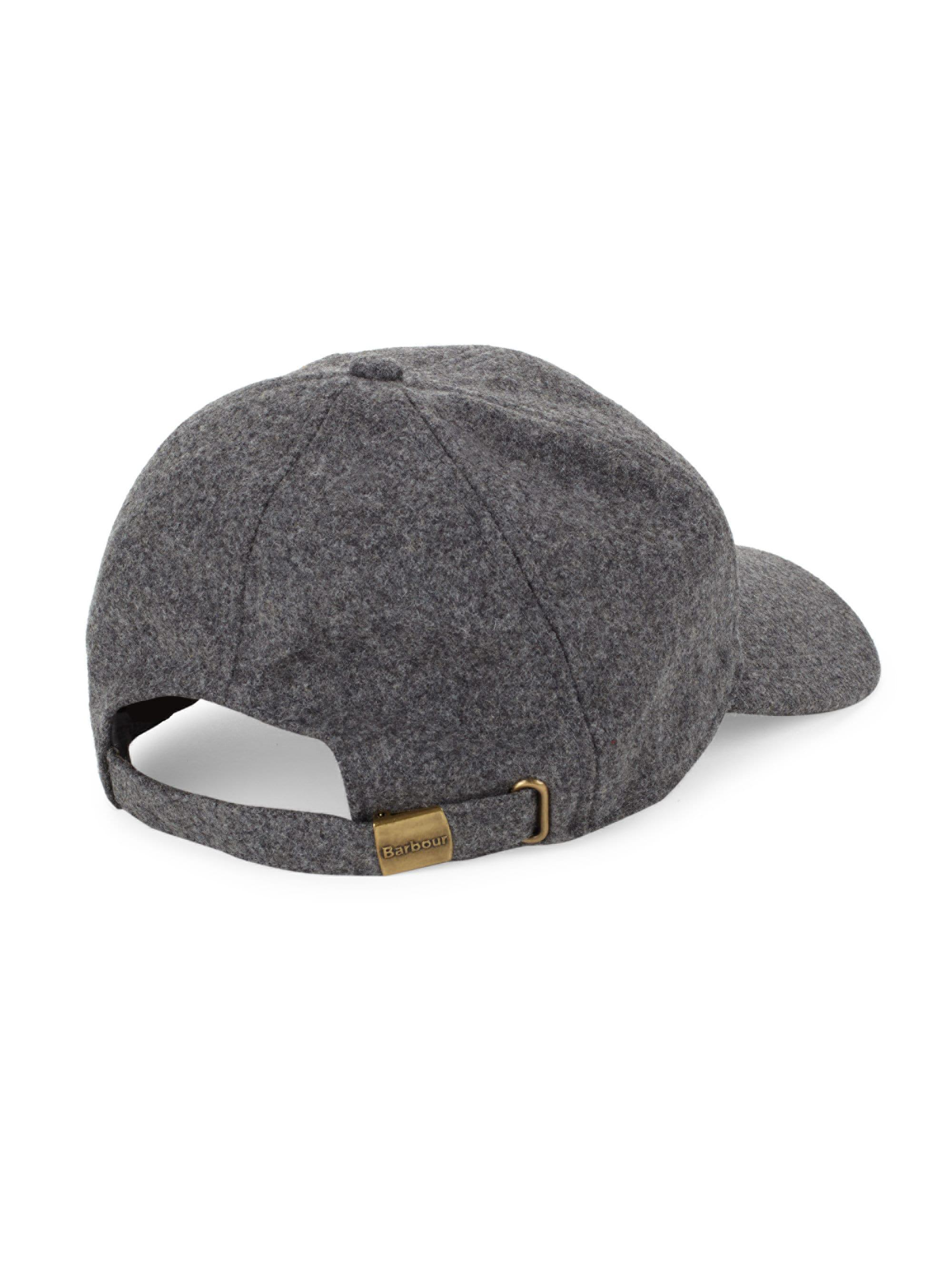 919ebc5633f Barbour Coopworth Wool-blend Sports Cap in Gray for Men - Lyst