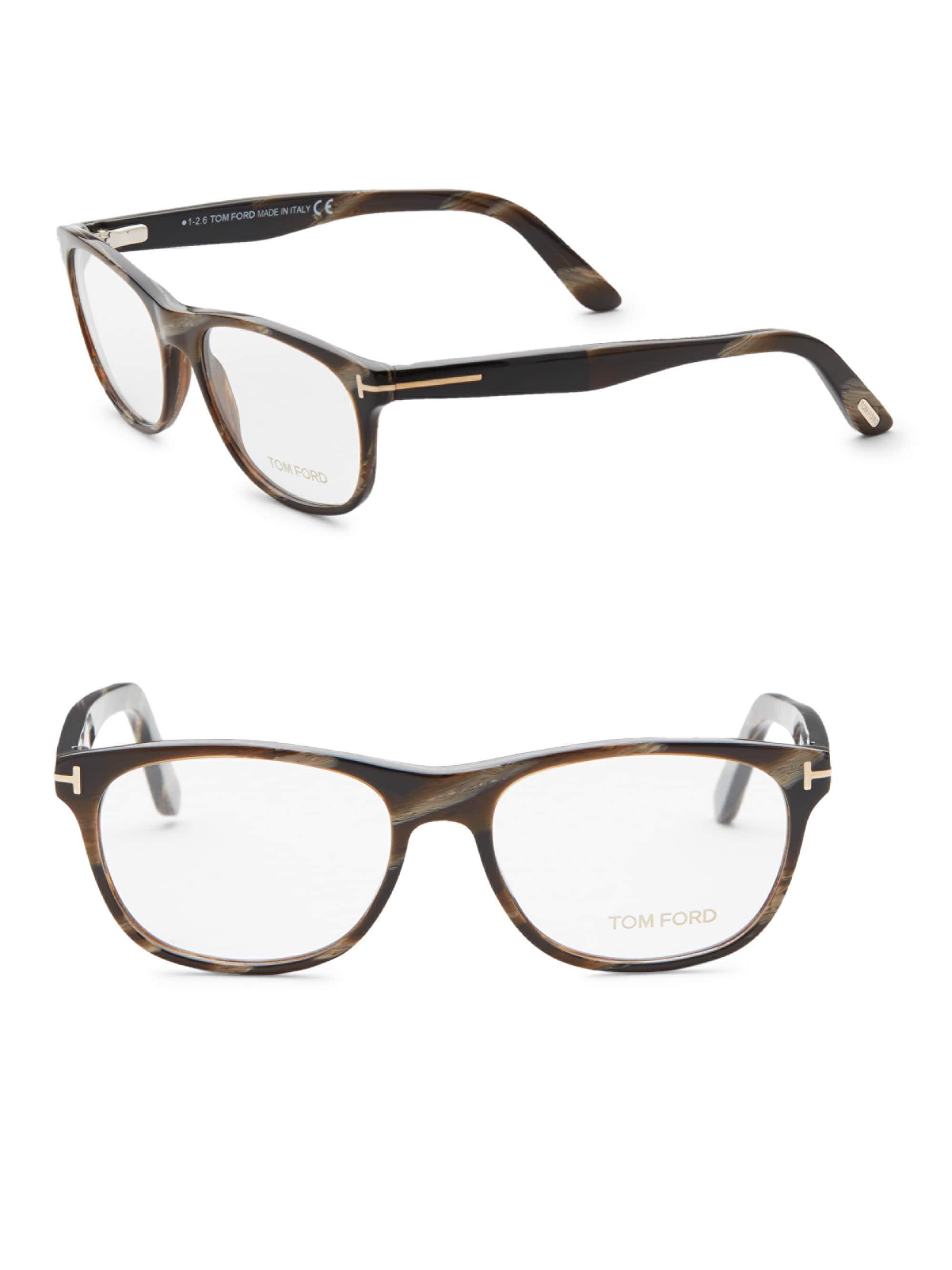 816a3bec40 Tom Ford Men s 50mm Optical Glasses - Brown in Brown for Men - Lyst