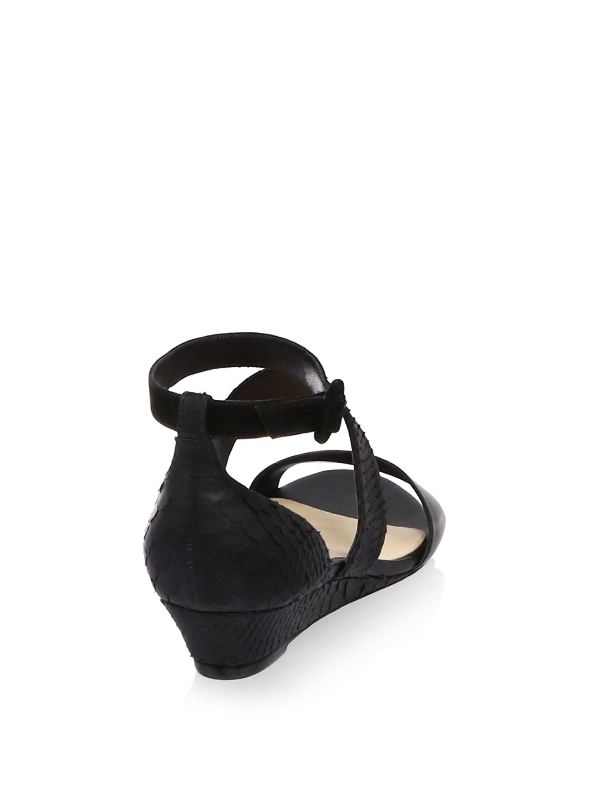 ALEXANDRE BIRMAN New Yanna Leather Platform Sandals jqgNC