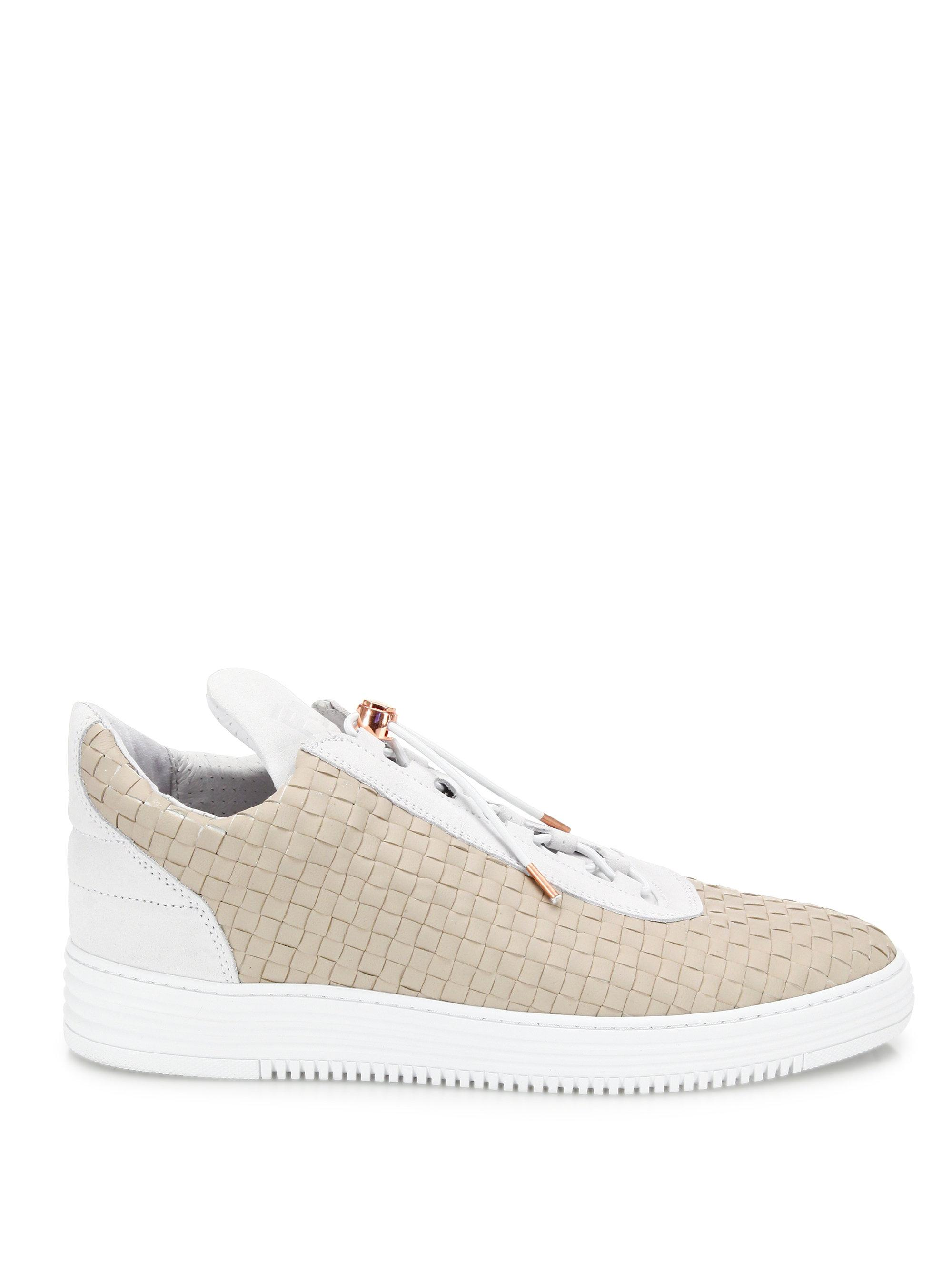 Filling pieces AW16 Independence Leather Sneakers olOWjSW4xG