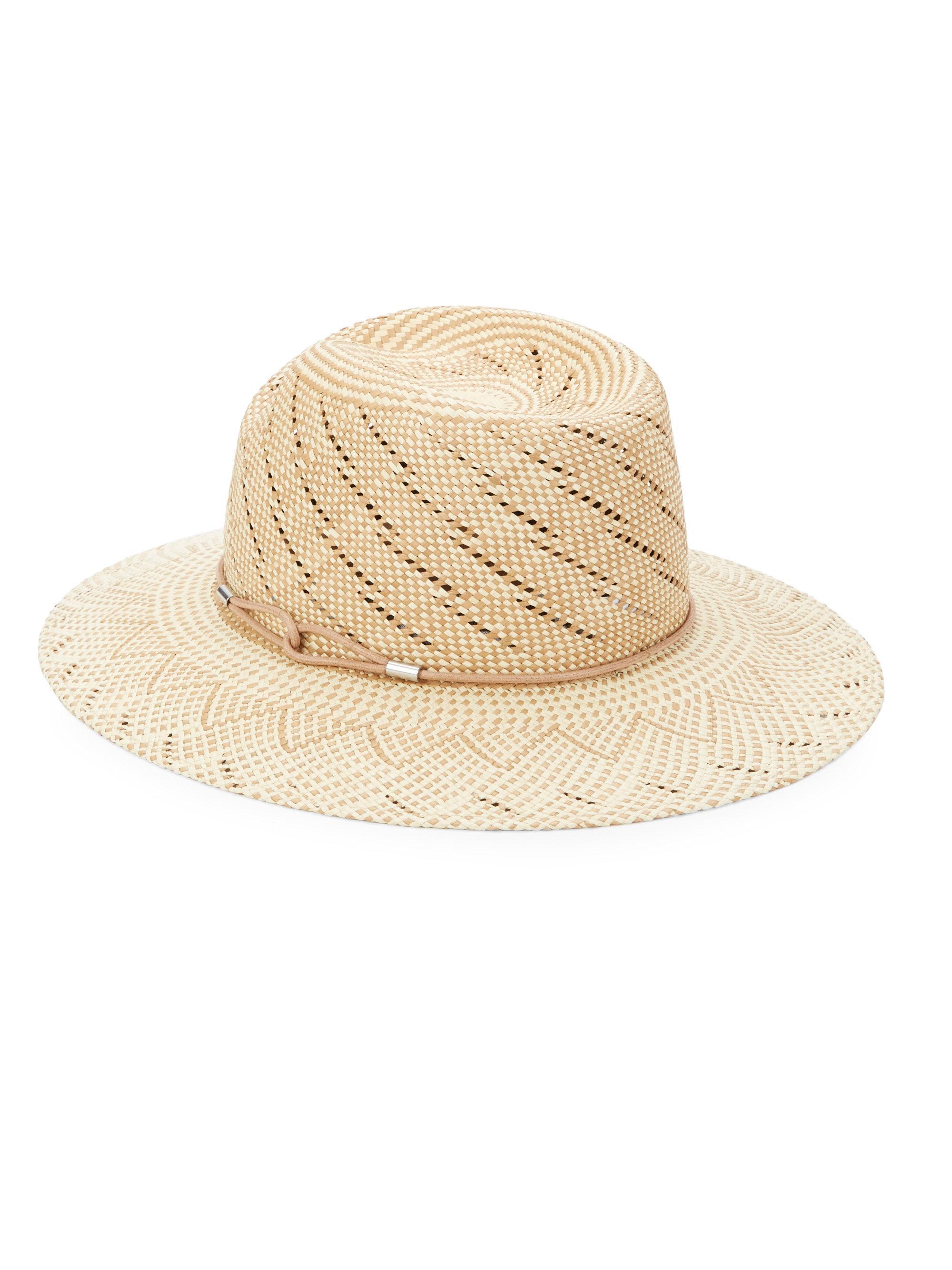 Rag   Bone Zoe Straw Hat in Natural - Lyst 276a9ff9dcb5